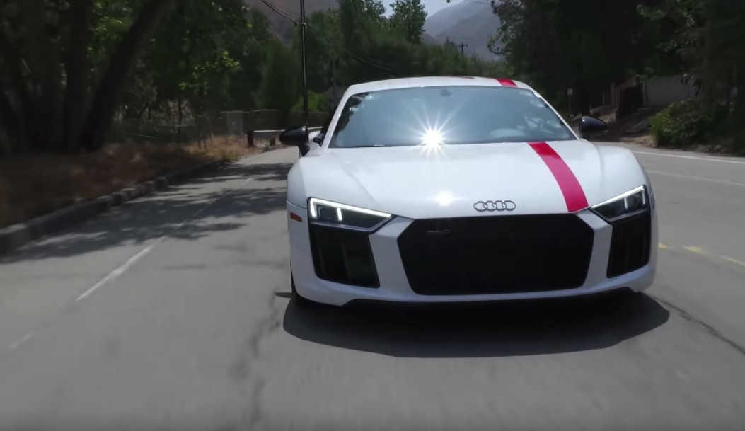 Jay Leno Sends Power To The Correct Wheels With The Audi R8 Rws