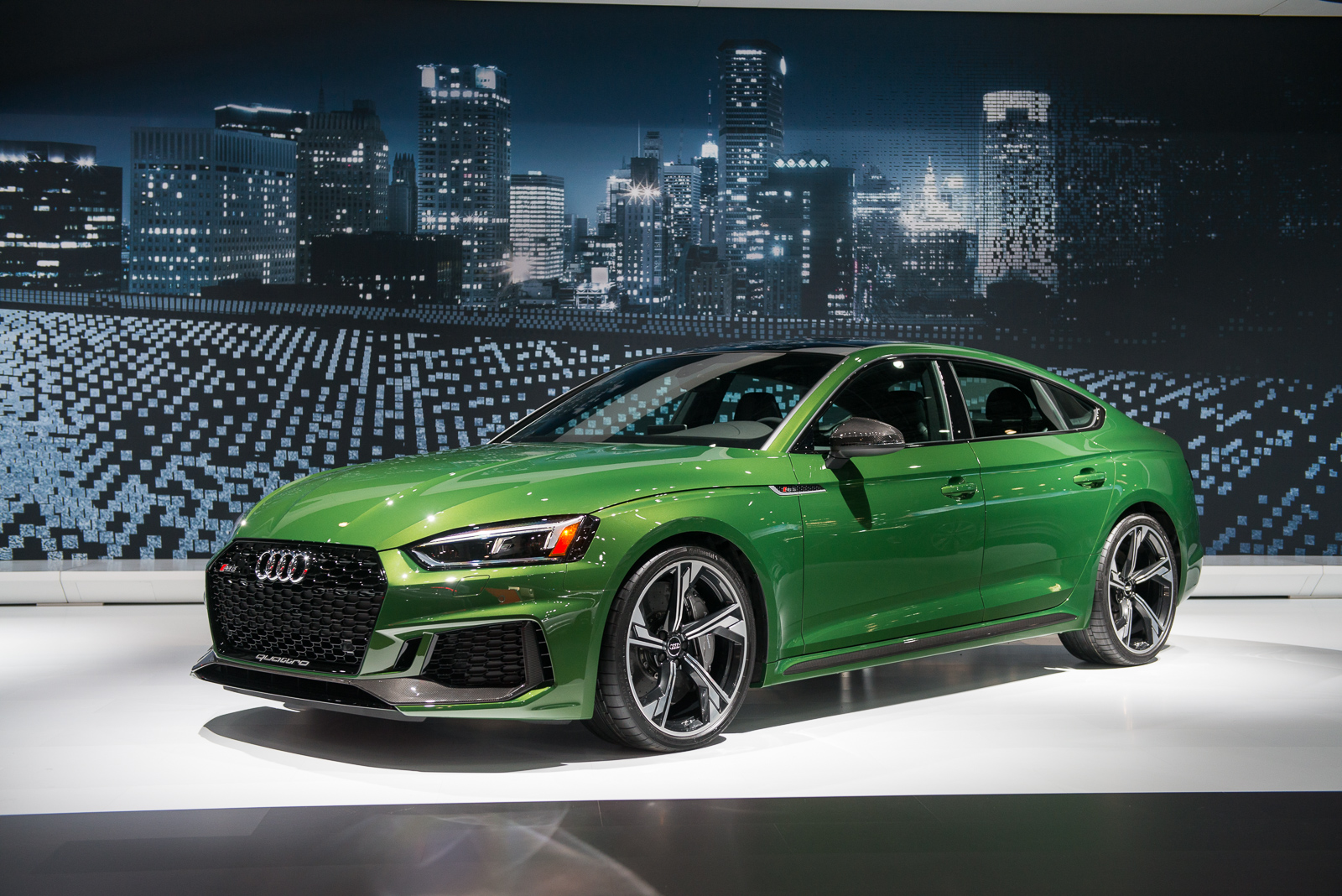 Baby got back: 2019 Audi RS 5 Sportback debuts in New York