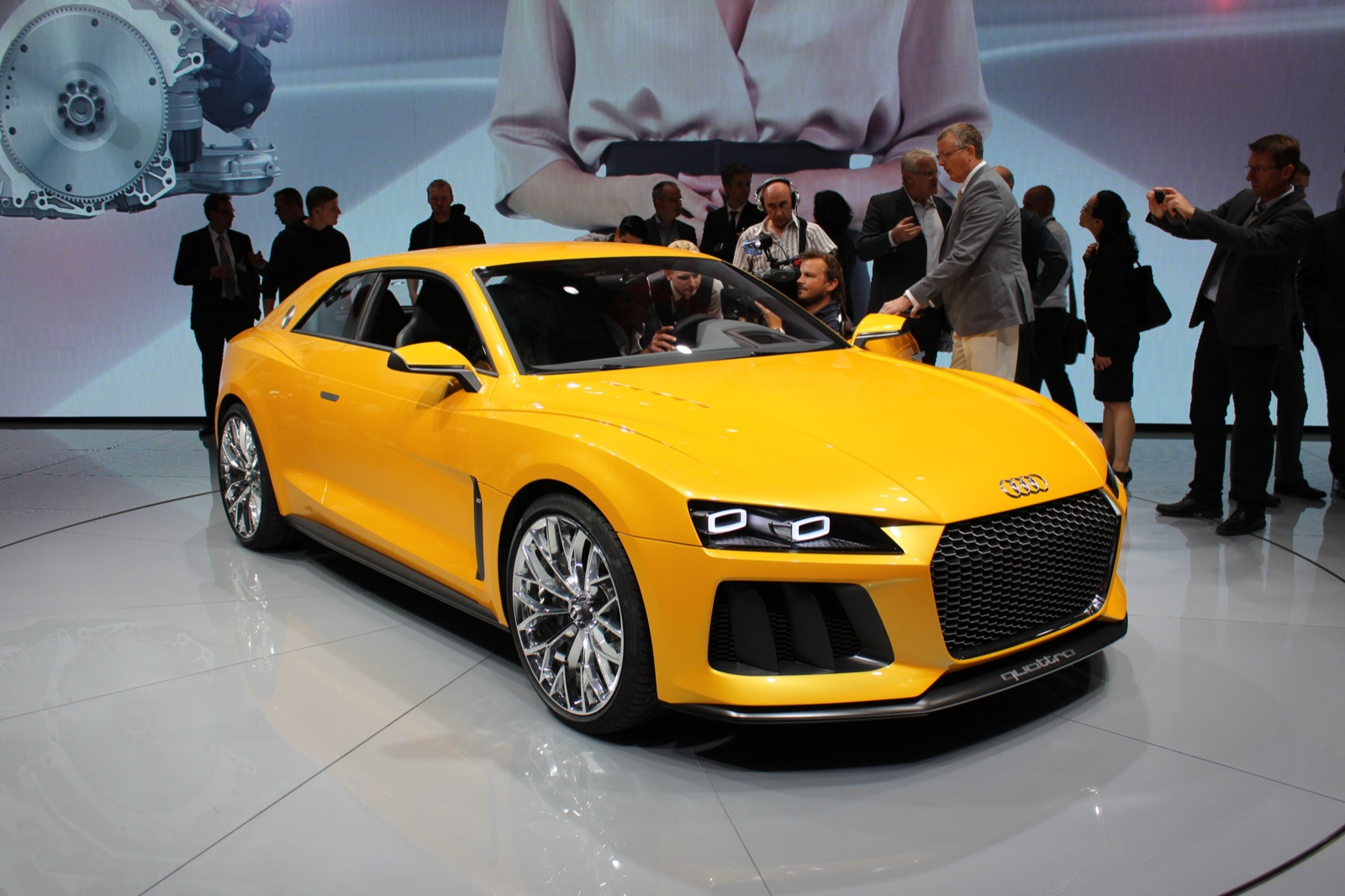 audi rules out modern quattro sports car again. Black Bedroom Furniture Sets. Home Design Ideas