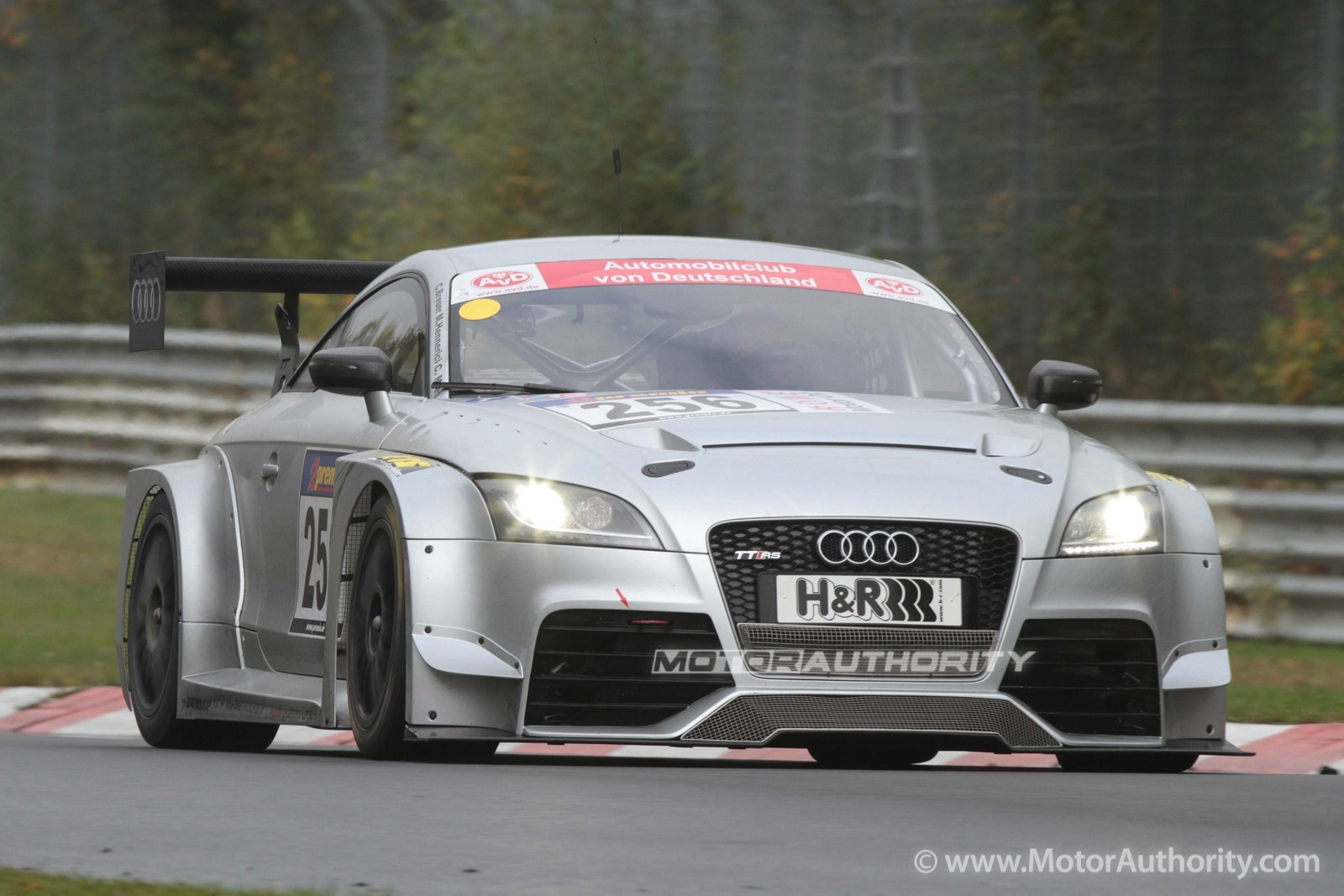 Audi Tt Rs Race Car Debuts Hits The Track