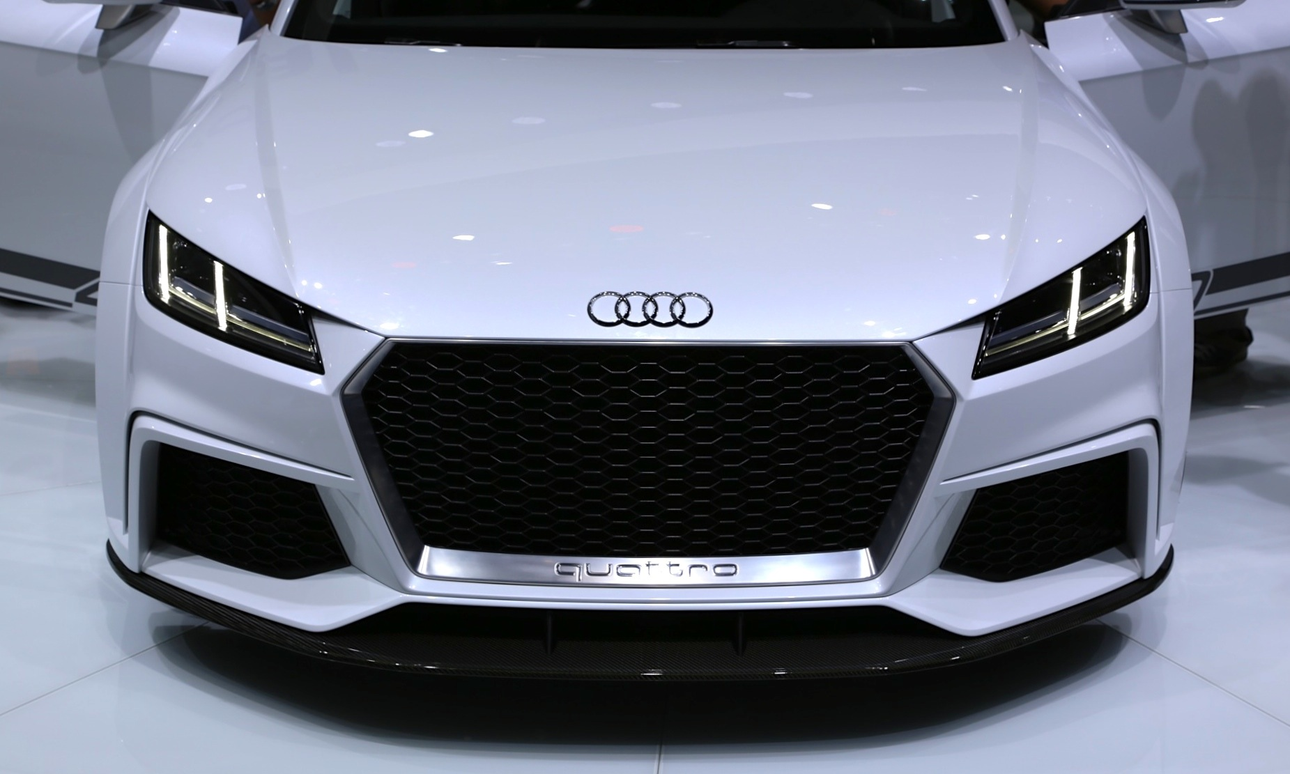 Audi TT quattro sport Concept Makes Surprise Showing In Geneva Video