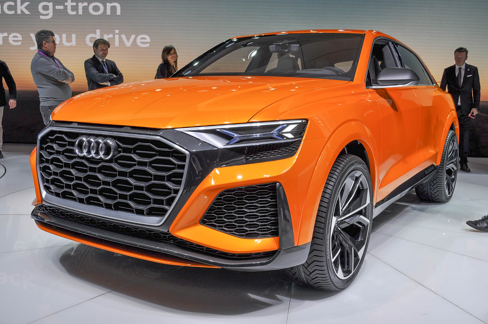 Audi 0 60 >> Audi Q8 Sport Concept Drops Plug In Function Slashes 0 60 Time