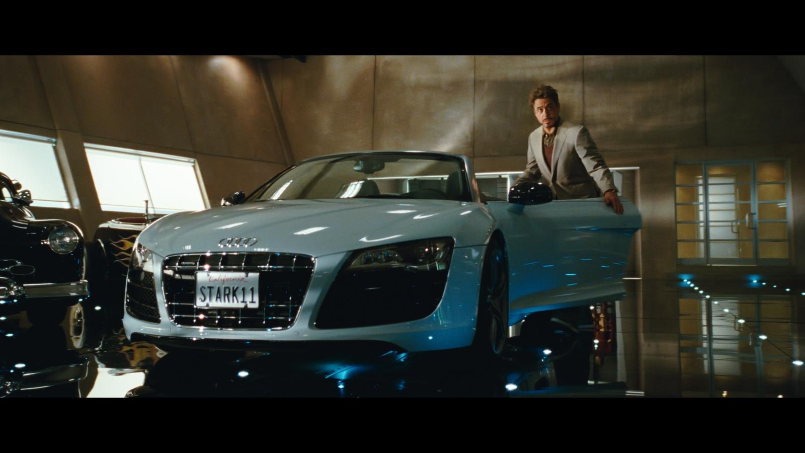 Car Tony Stark Drives In Iron Man