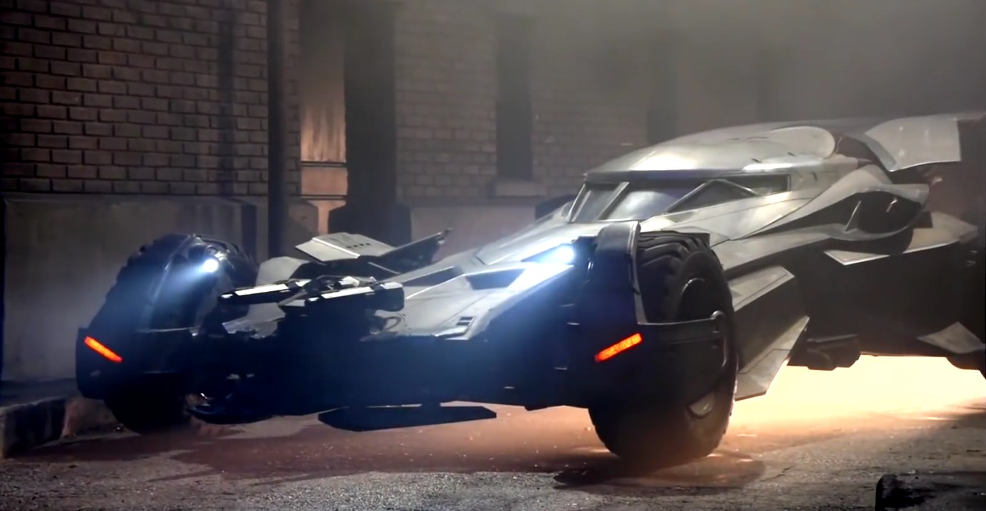 This Is The First Video Of The Batman v Superman Batmobile