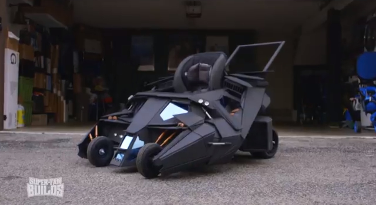 Race Car For Sale >> You've Seen The Tumbler Golf Cart, Now Meet The Tumbler Baby Stroller: Video