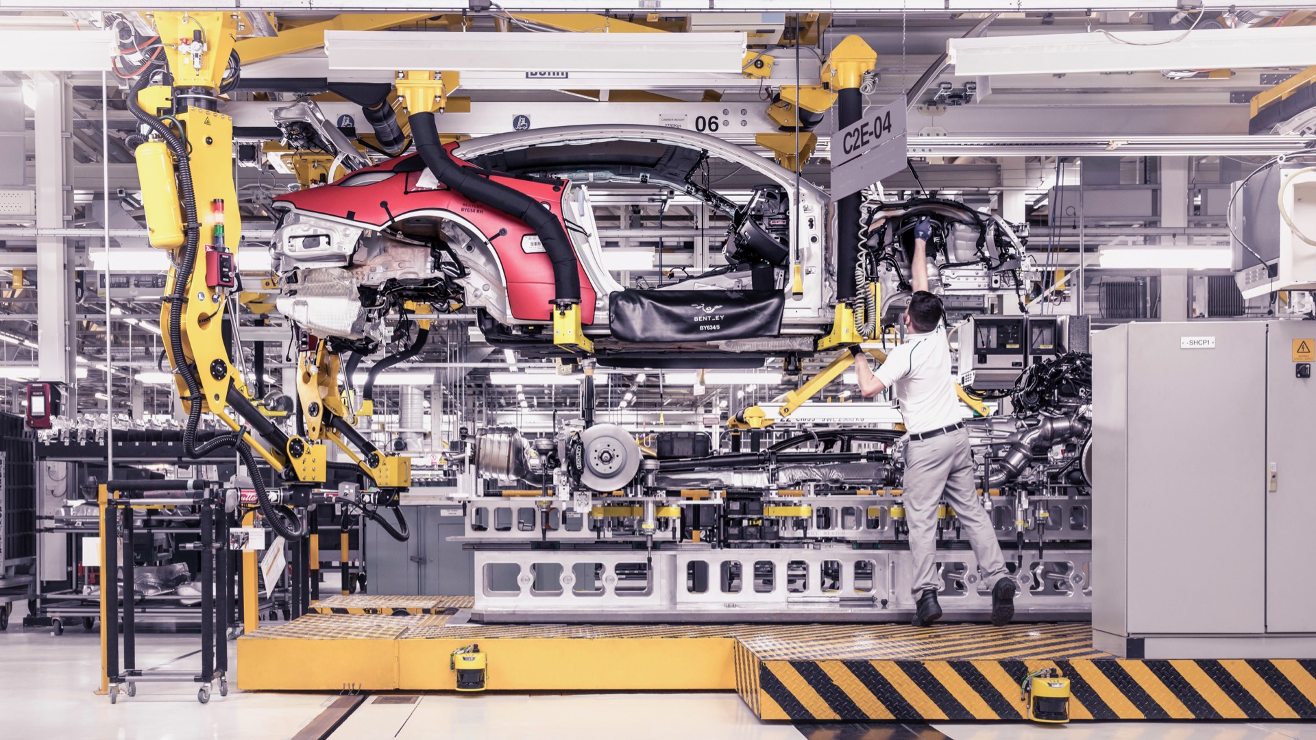 Inside the factory: How the Bentley Continental GT is built
