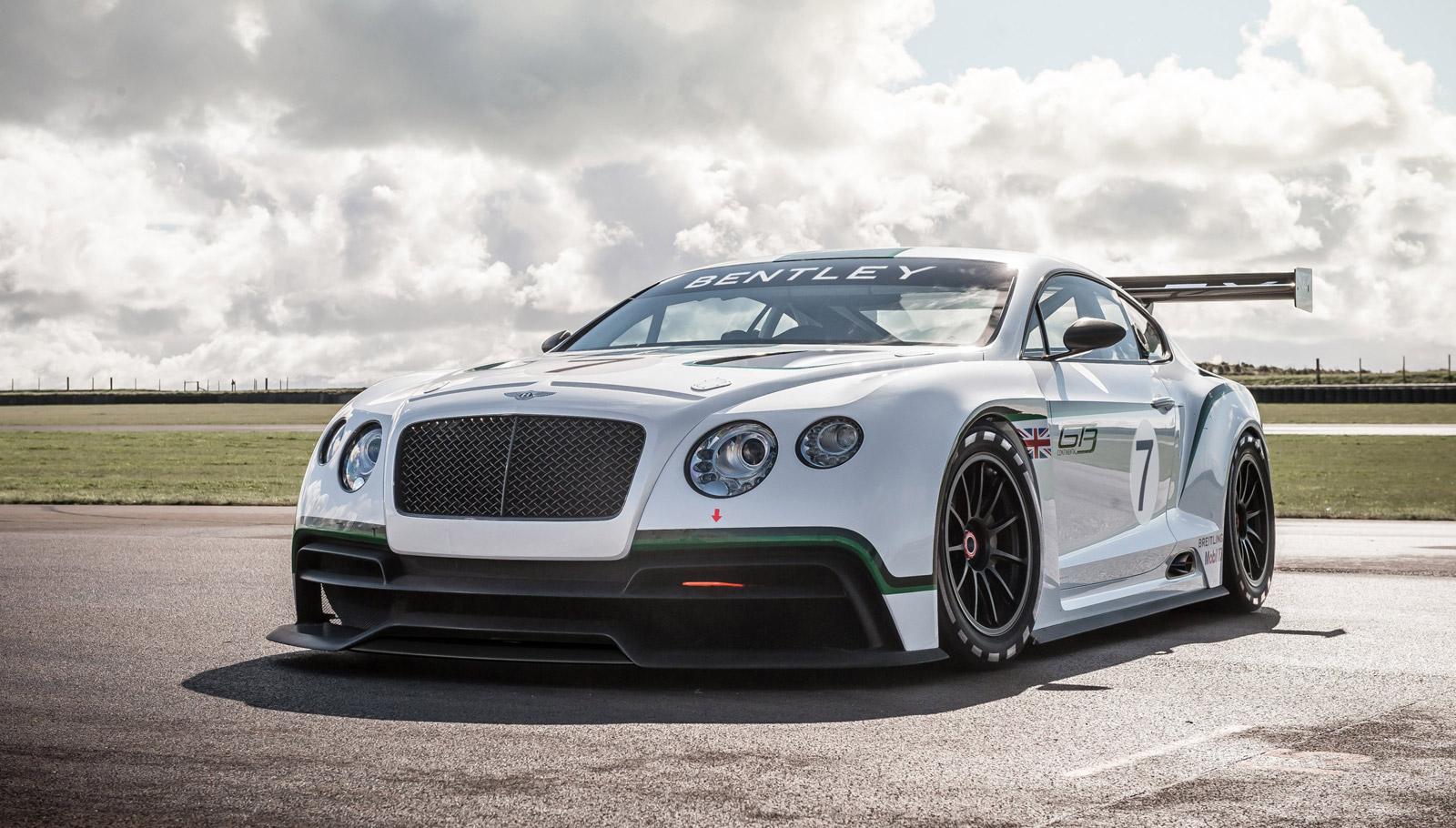 Bentley Continental GT3 Concept: 2012 Paris Auto Show