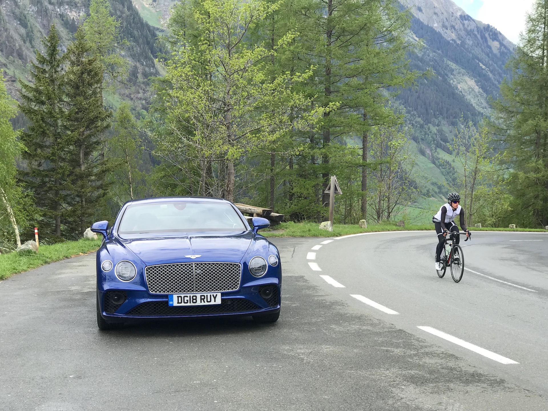 Aj95 Bentley Blue Drive Car: 2019 Bentley Continental GT First Drive Review: The Stuff