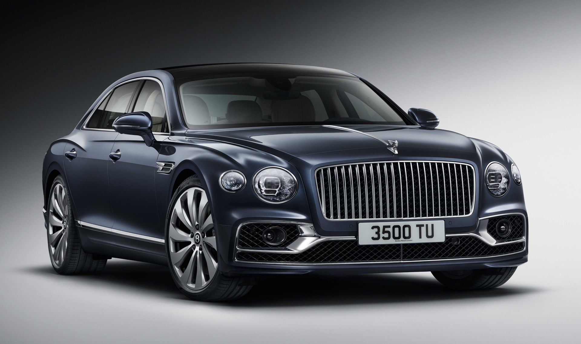 bentley flying spur  sporty  stately   single package