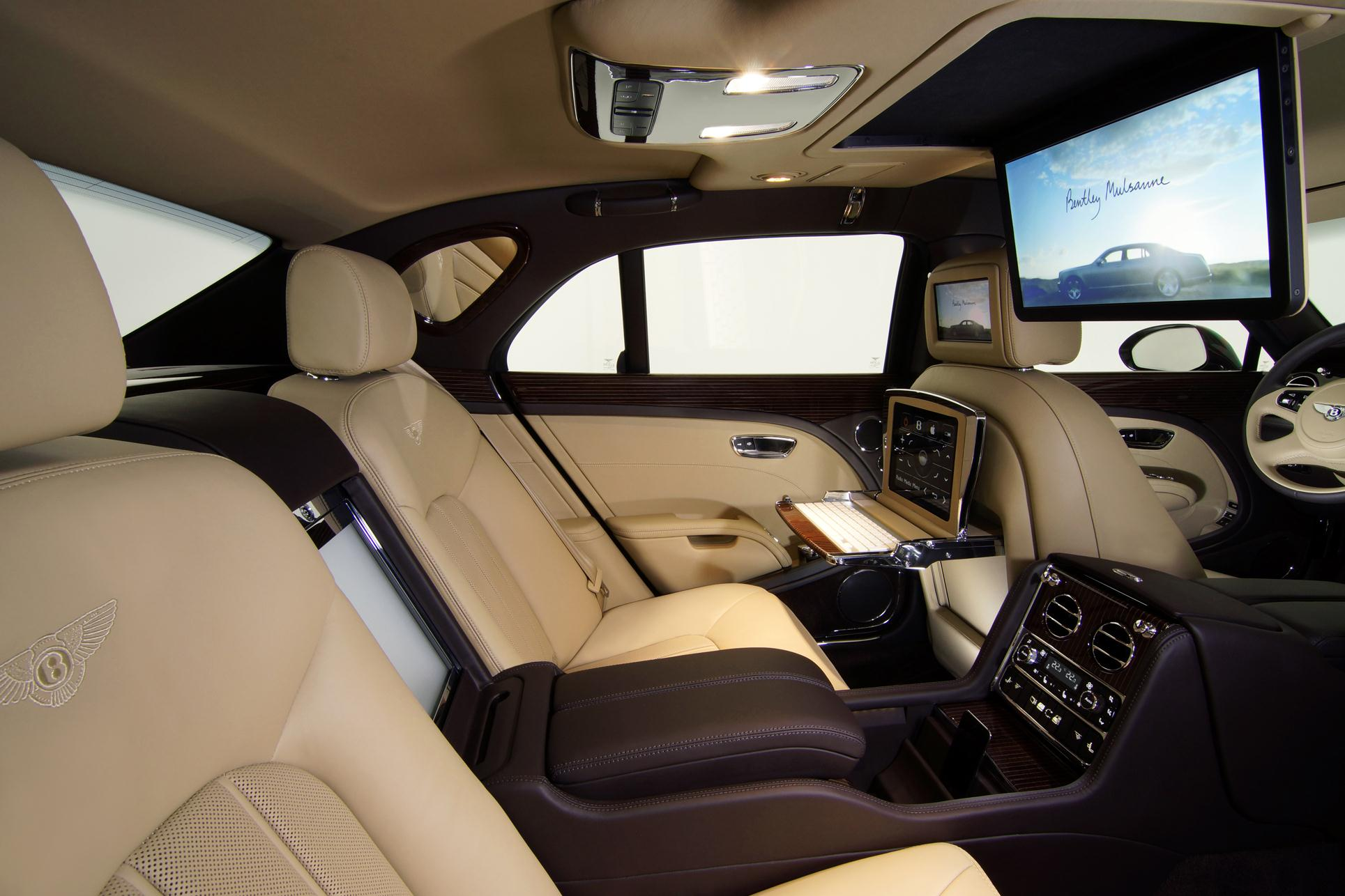 Bentley mulsanne executive interior concept 2011 frankfurt auto show vanachro Images