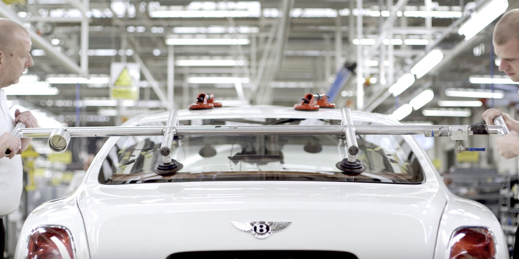 Watch a Bentley Mulsanne come to life on the assembly line