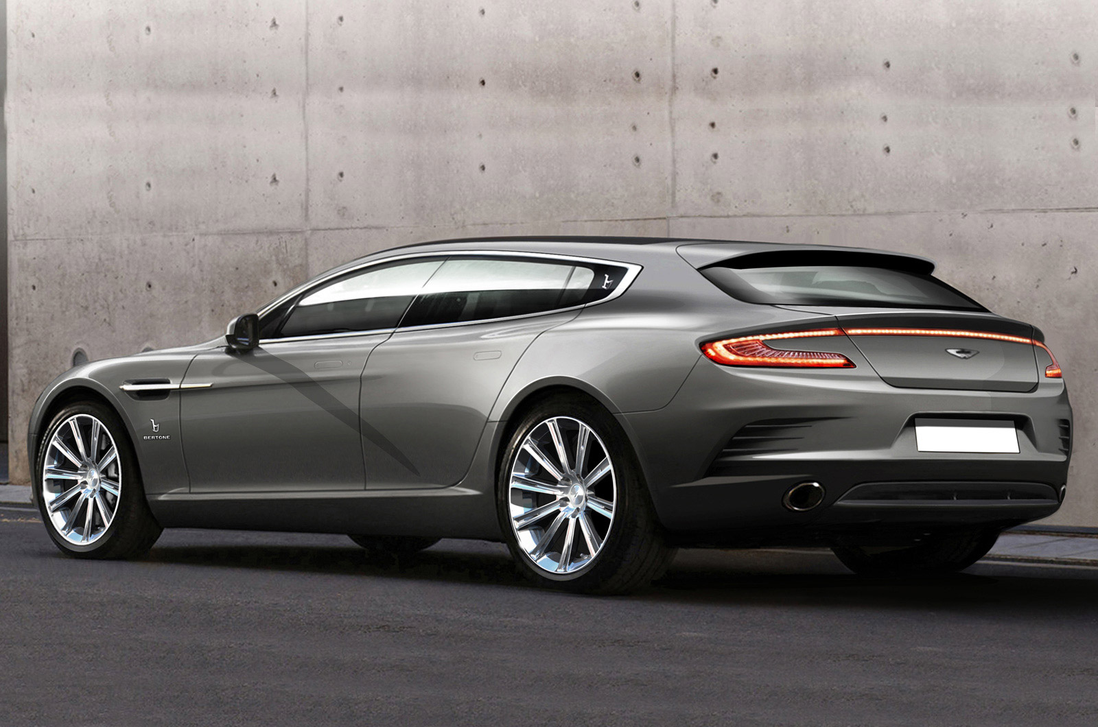 Bertone S Geneva Concept Is An Aston Martin Rapide Shooting Brake