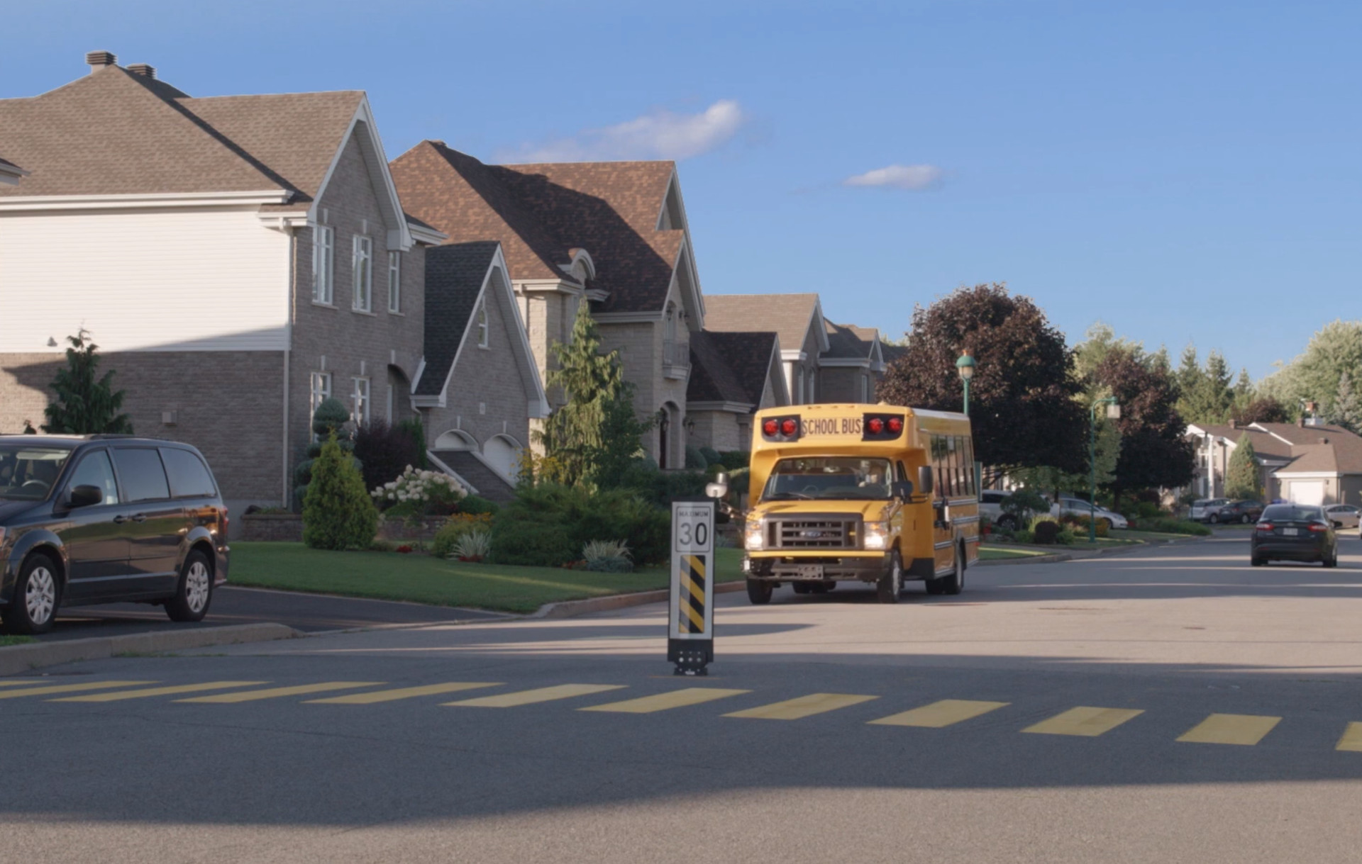 Big yellow school buses go green with electric power