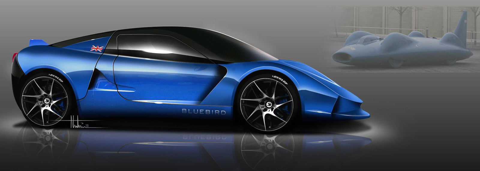 Famous Bluebird Name To Grace New Electric Sports Car