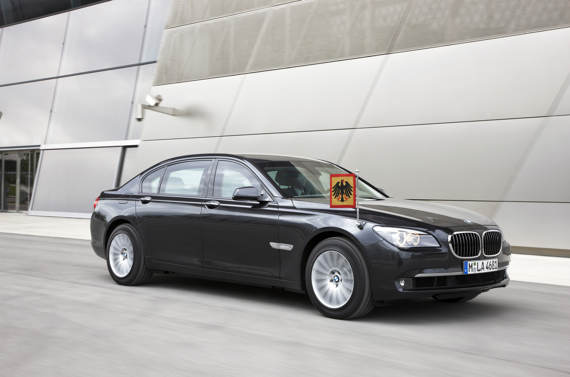 BMW Launches Two 7-Series High-Security Models