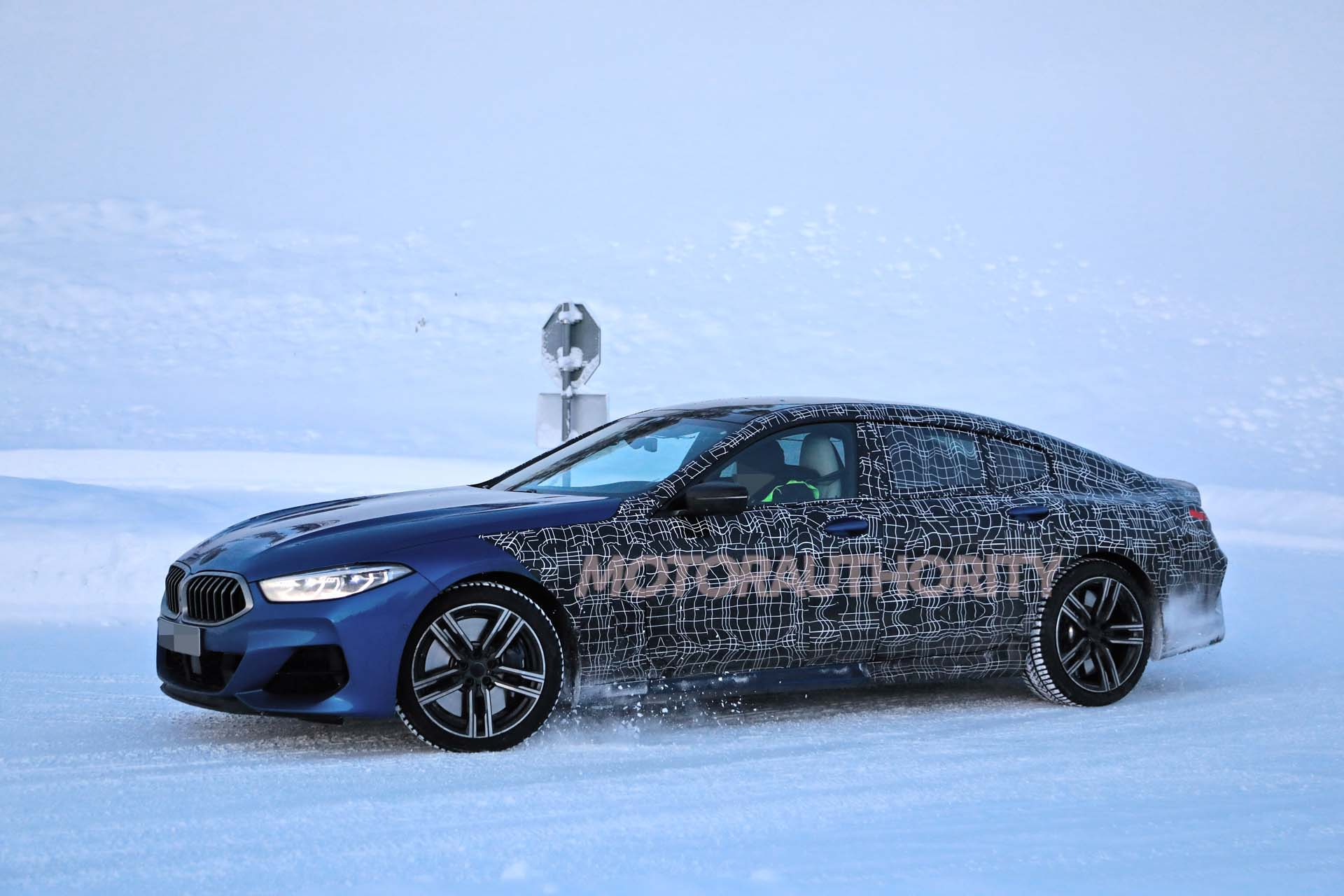 2020 Bmw 8 Series Gran Coupe Spy Shots And Video