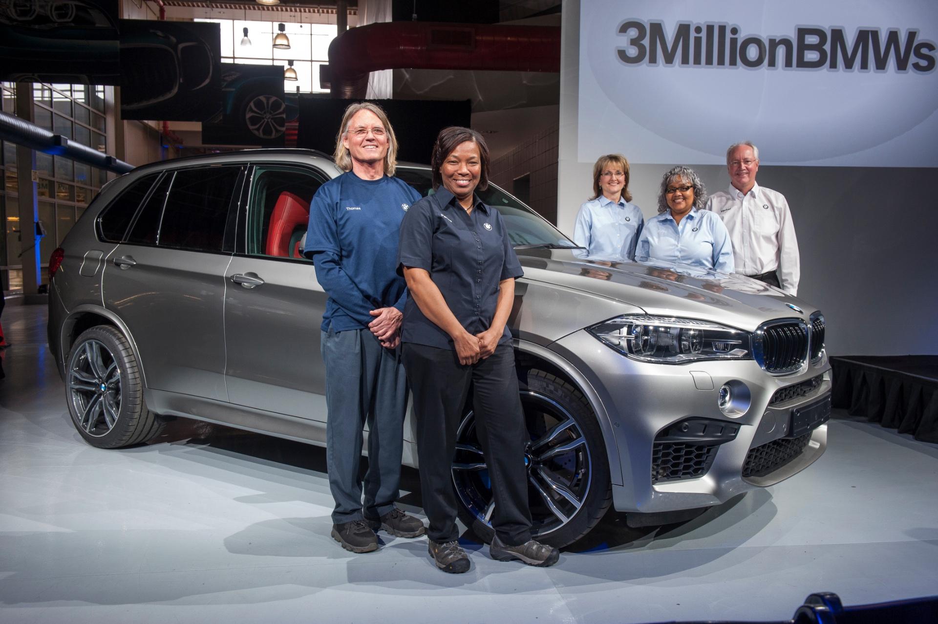 Bmw Celebrates Three Millionth Vehicle In Spartanburg Status As