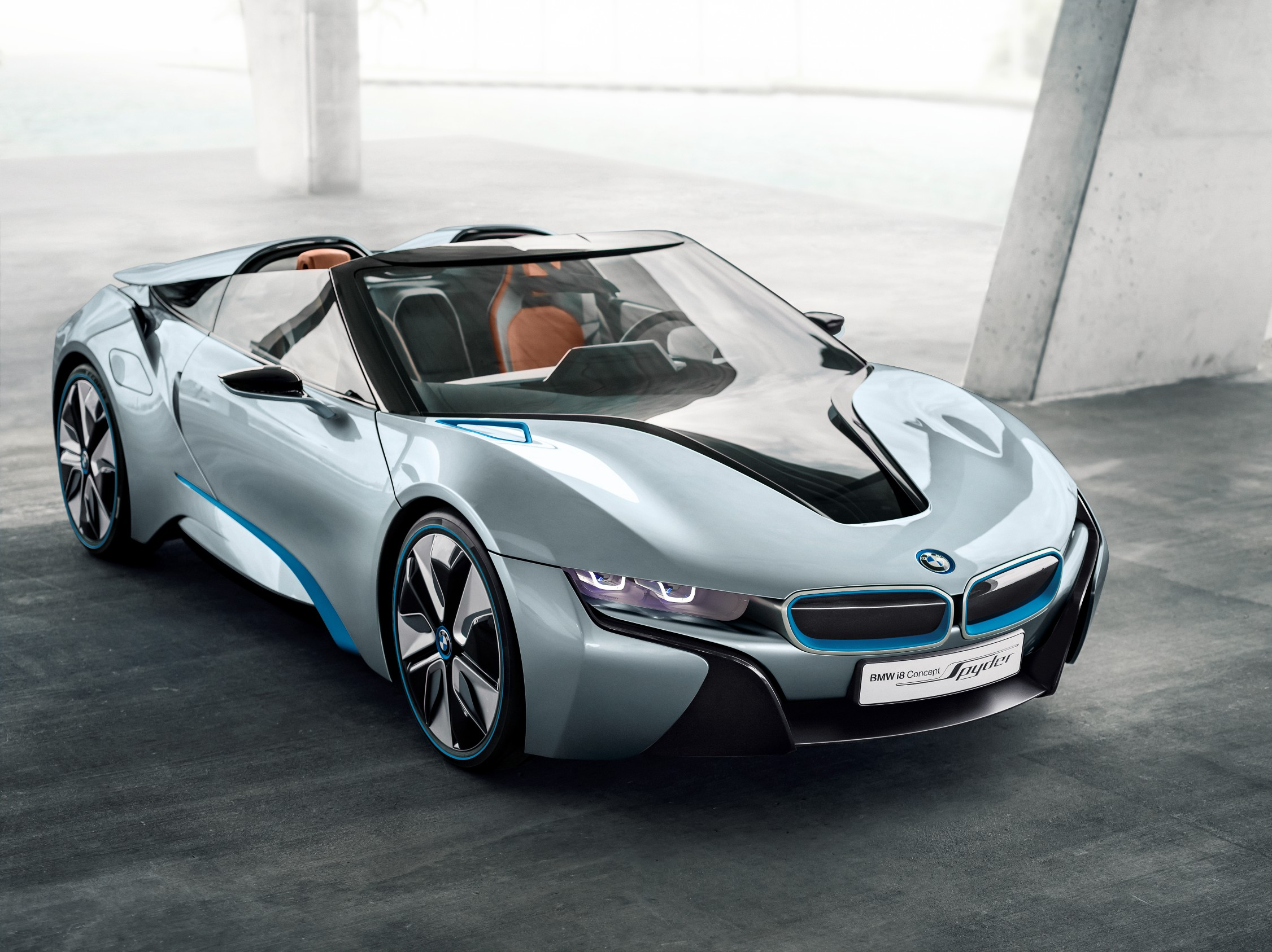 מתוחכם BMW confirms i8 Spyder, hints at more high-end models and M cars EW-14