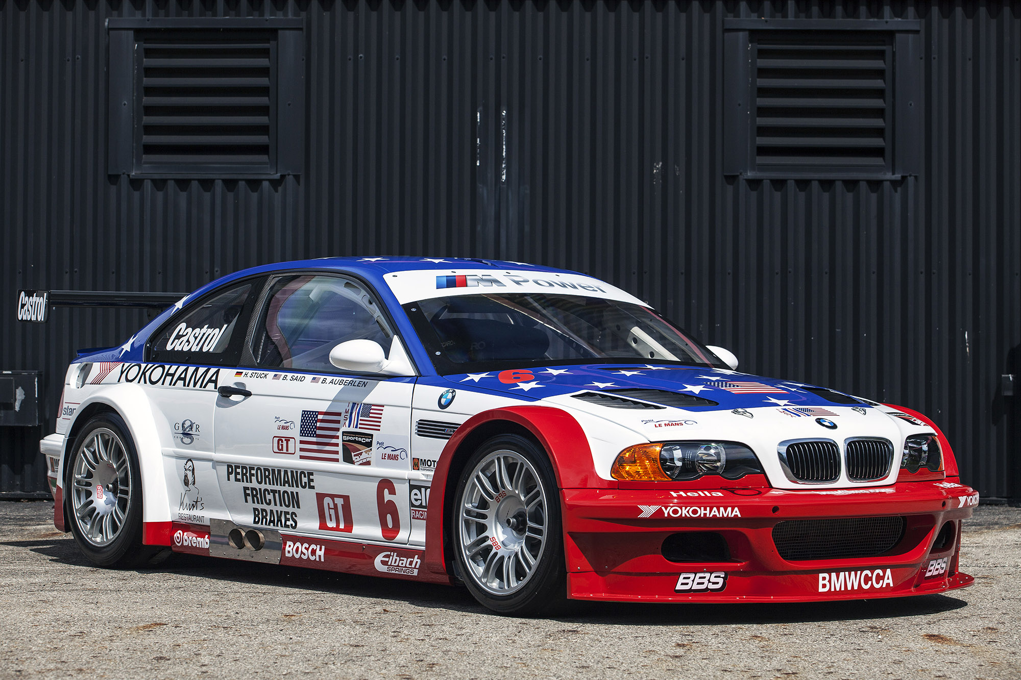 Bmw Brings Controversial M3 Gtr Out For Monterey Car Week