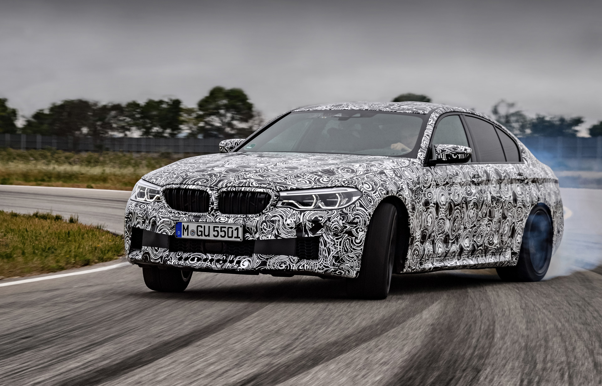 Bmw Details M Xdrive All Wheel Drive System Debuting On M5