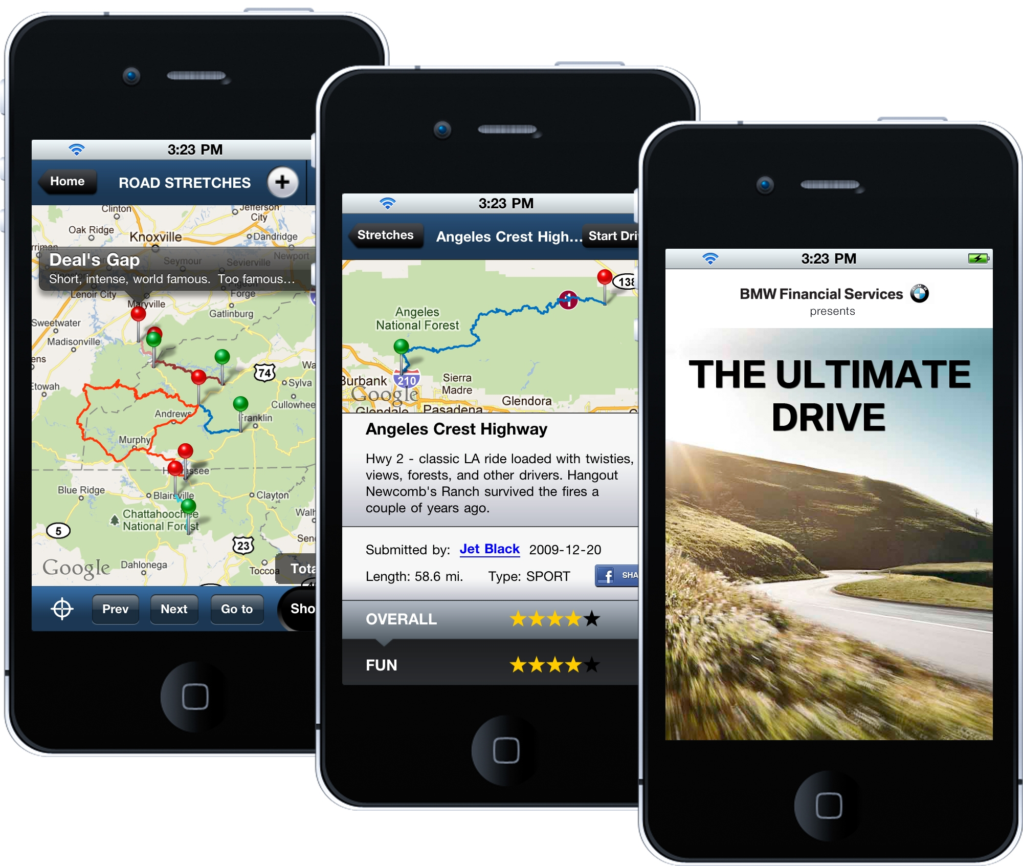 BMW: The Ultimate Driving    App