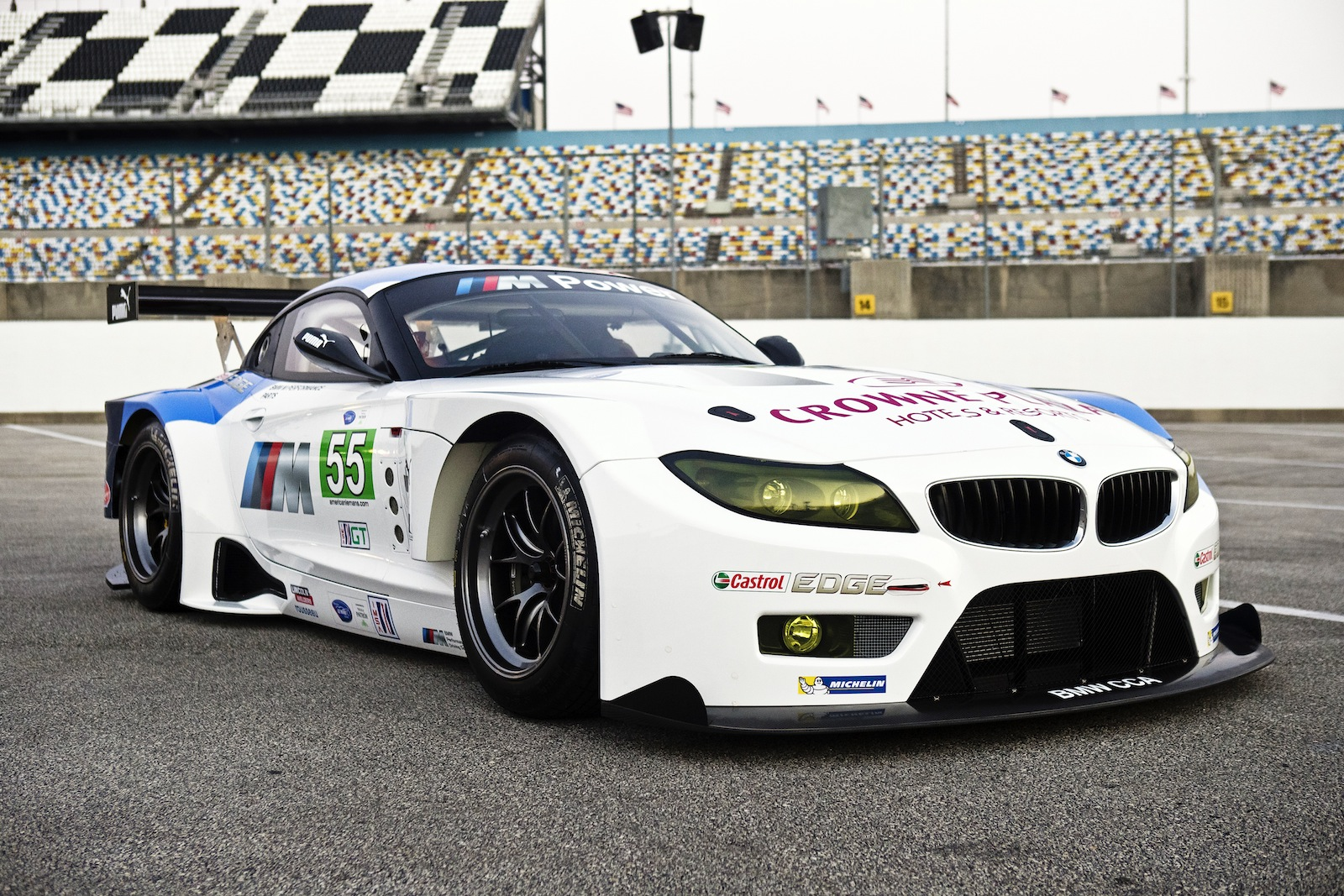 Bmw Rolls Out Its Z4 Gte Racer Video
