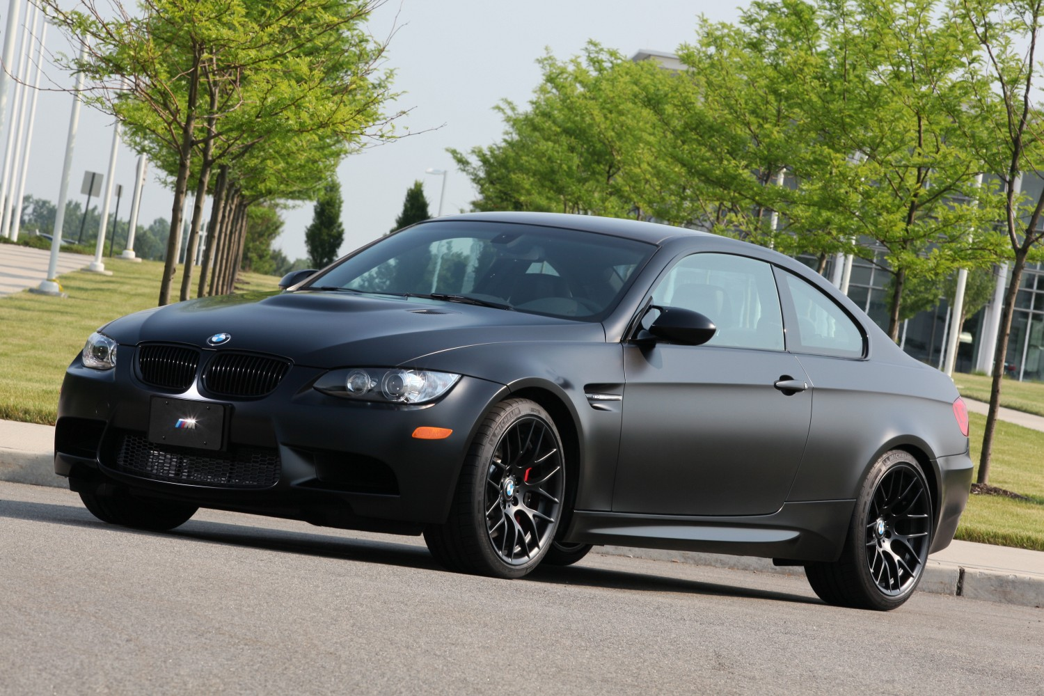 2011 Bmw M3 Frozen Black Coupe Like Frozen Gray Only Darker