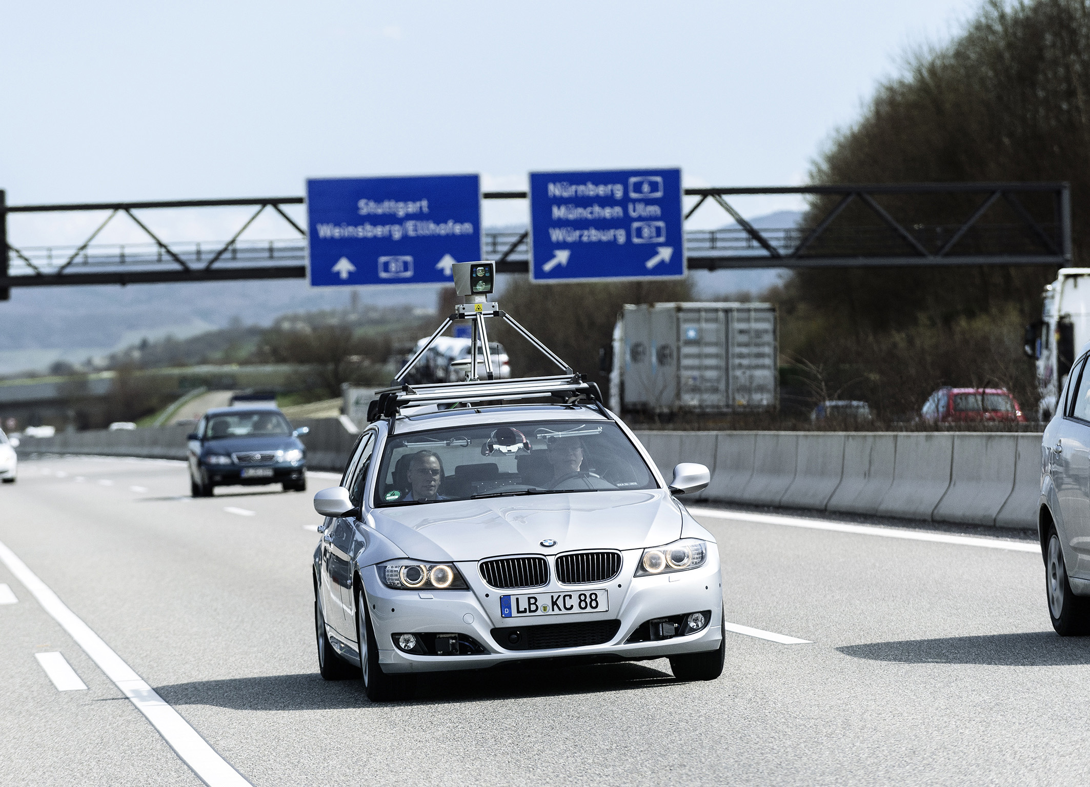 Germany Plans Autonomous Car Test Program On High-Speed Autobahn