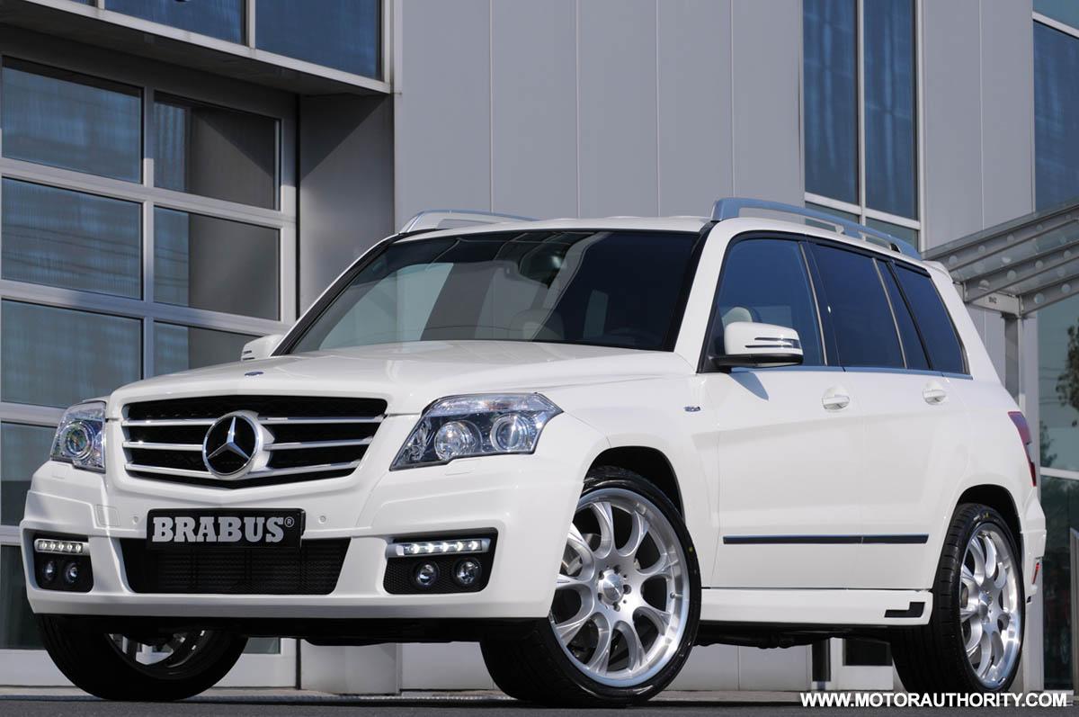 Brabus modifies the Mercedes-Benz GLK