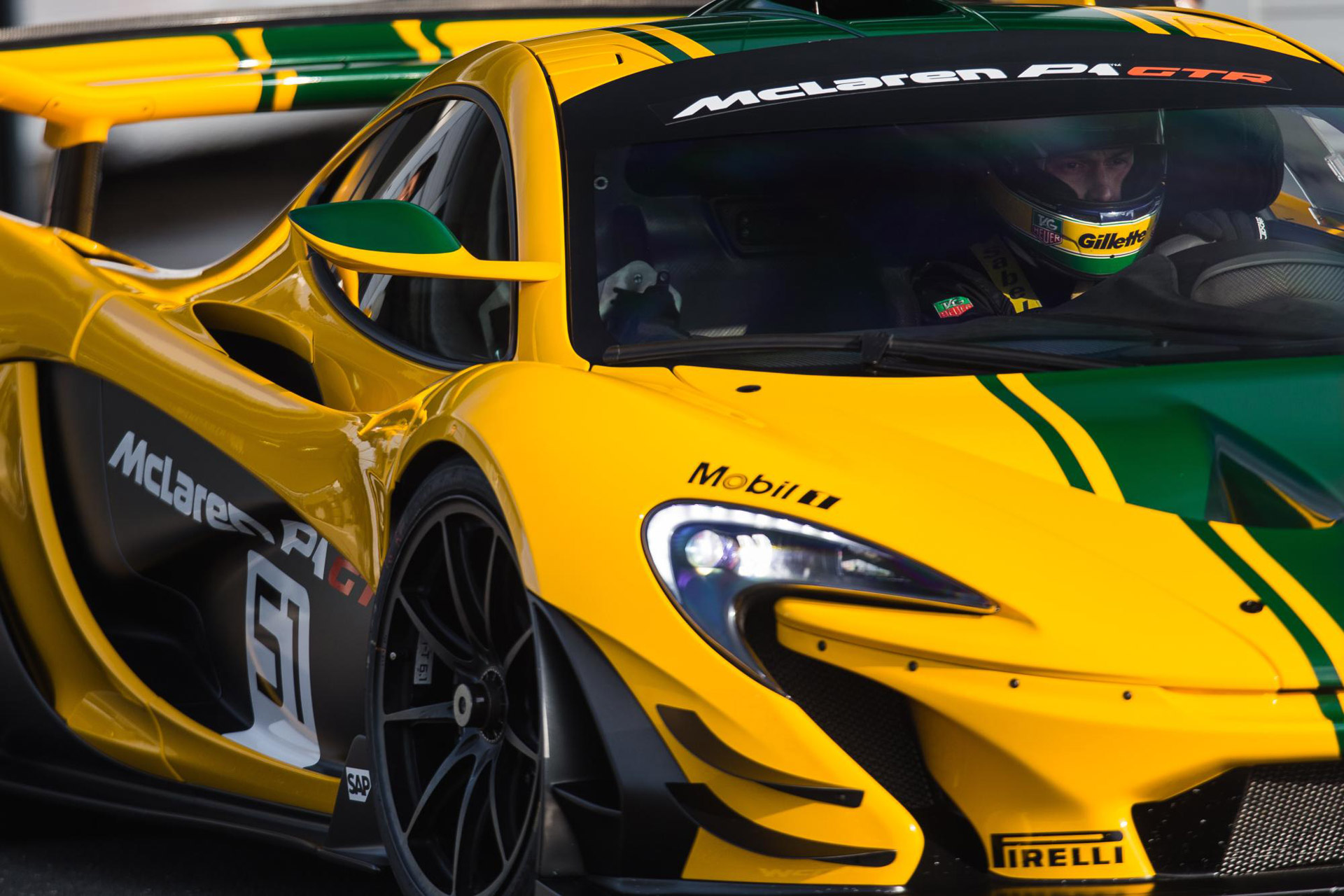 Bruno Senna Confirmed As Instructor In Mclaren P1 Gtr