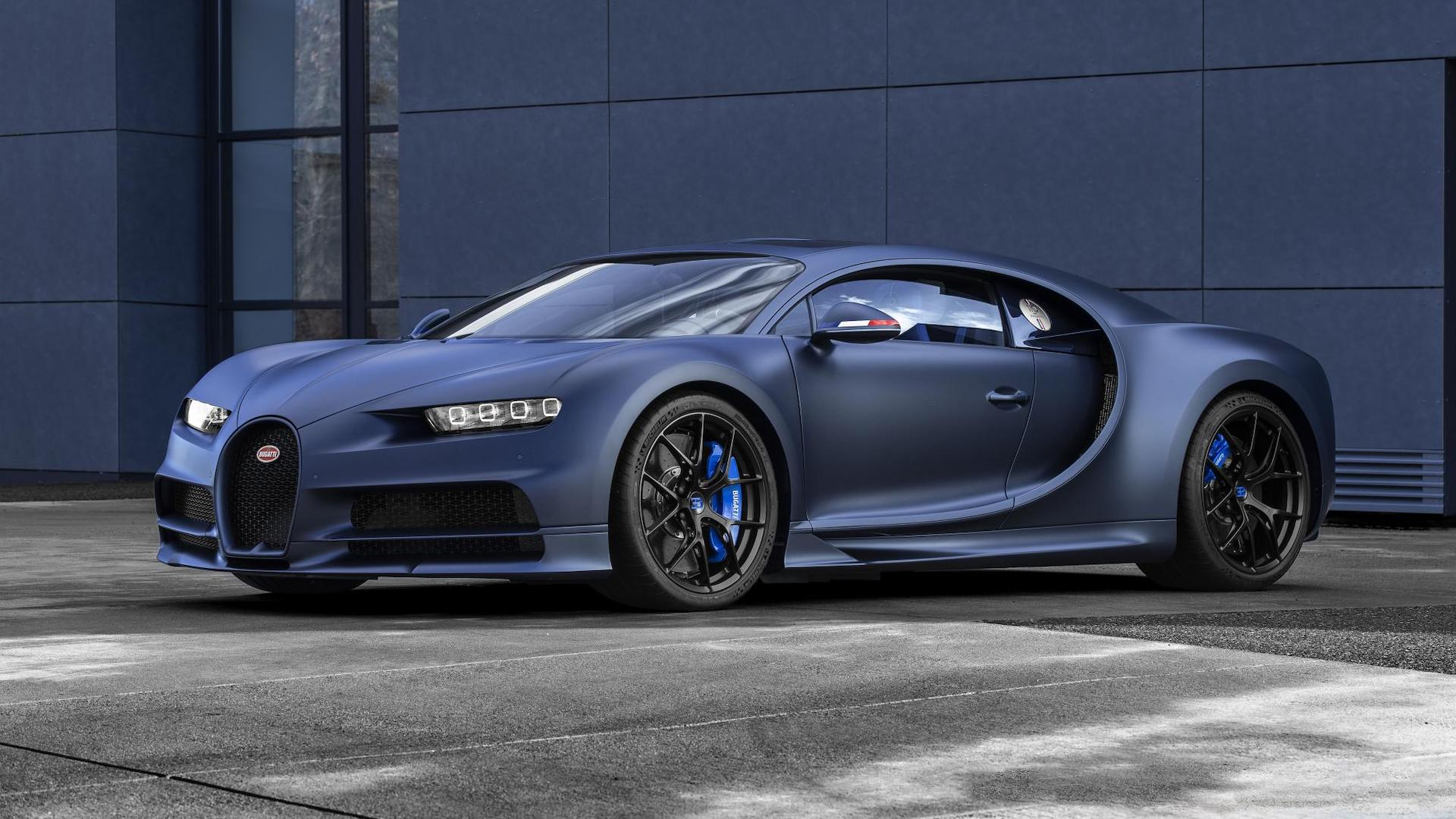 Bugatti Celebrates 110th Anniversary With Special Edition Chiron