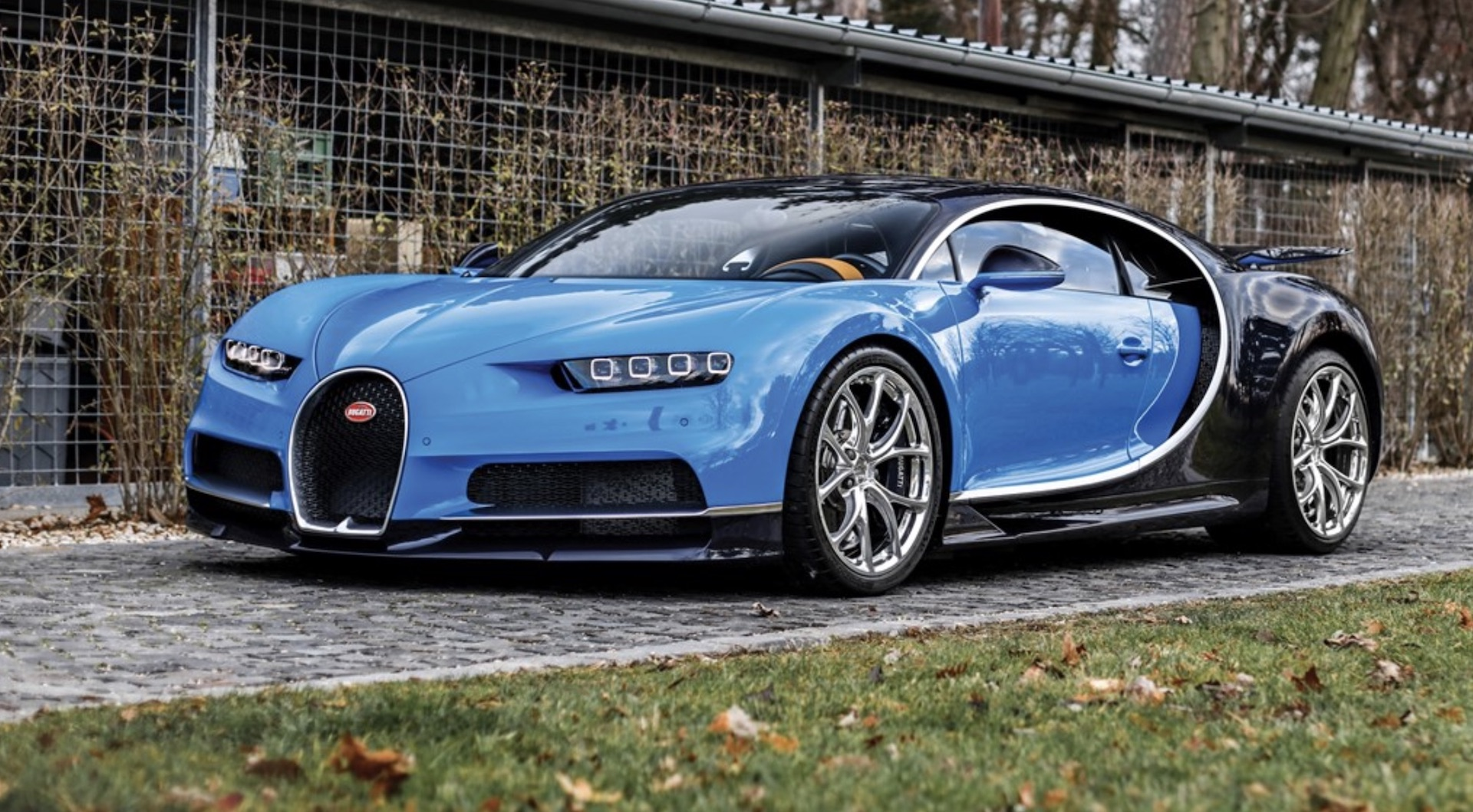 Pack your millions: one of first 20 Bugatti Chirons delivered up for auction