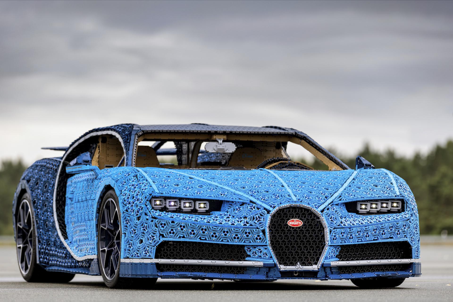 Bugatti Chiron Lego Technic Auto Breaking News