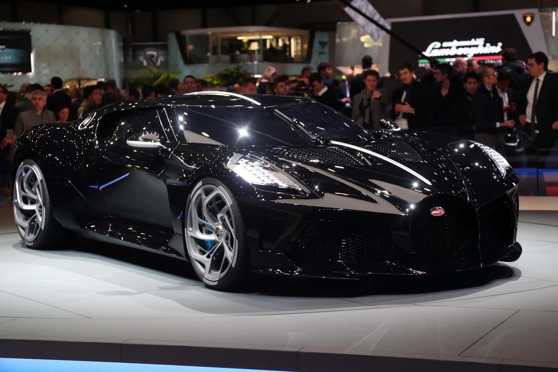 Bugatti La Voiture Noire A 12 4 Million Celebration Of The Type 57sc Atlantic