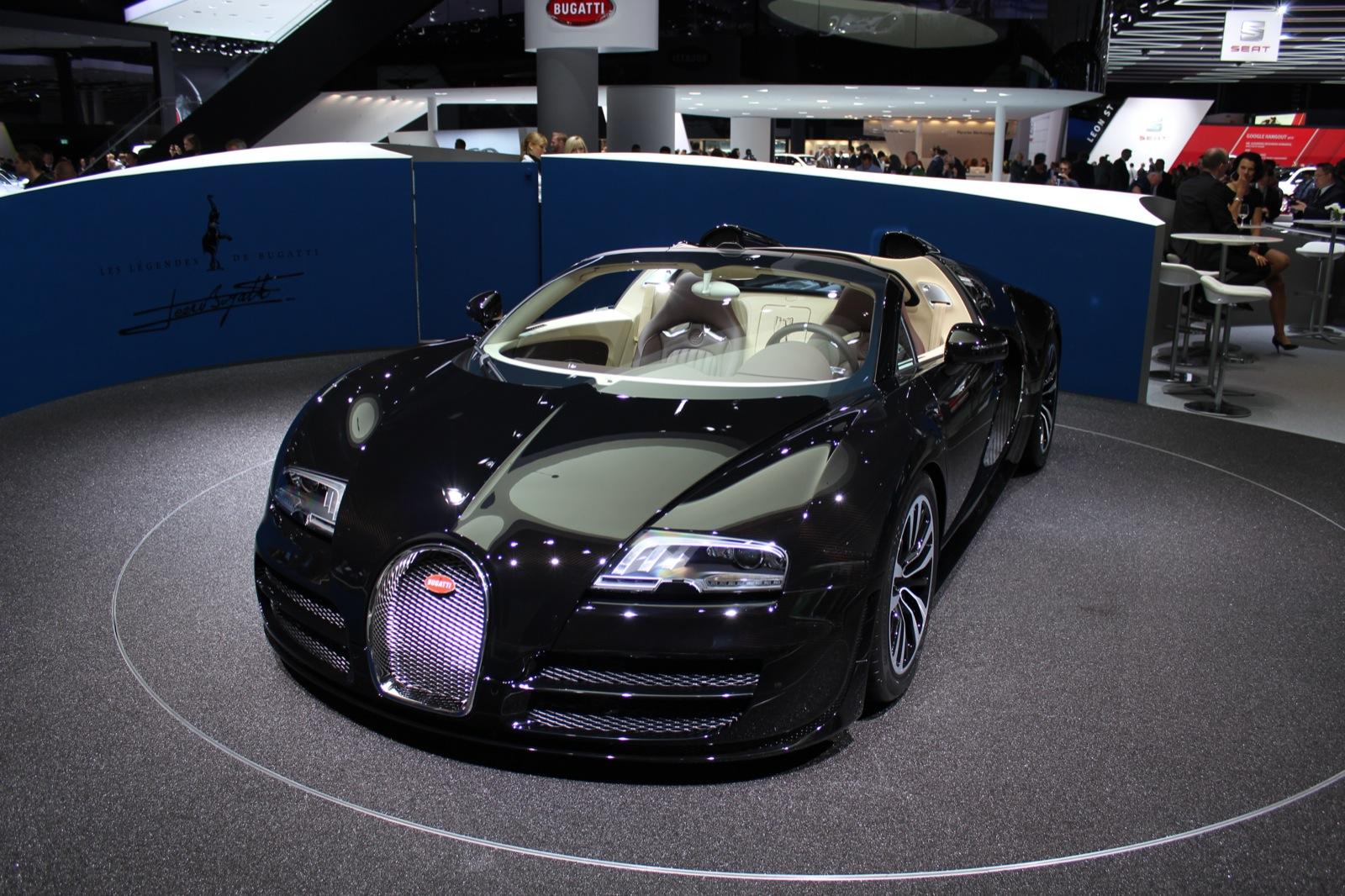 Bugatti Legend 'Jean Bugatti' Veyron Grand Sport Vitesse ...