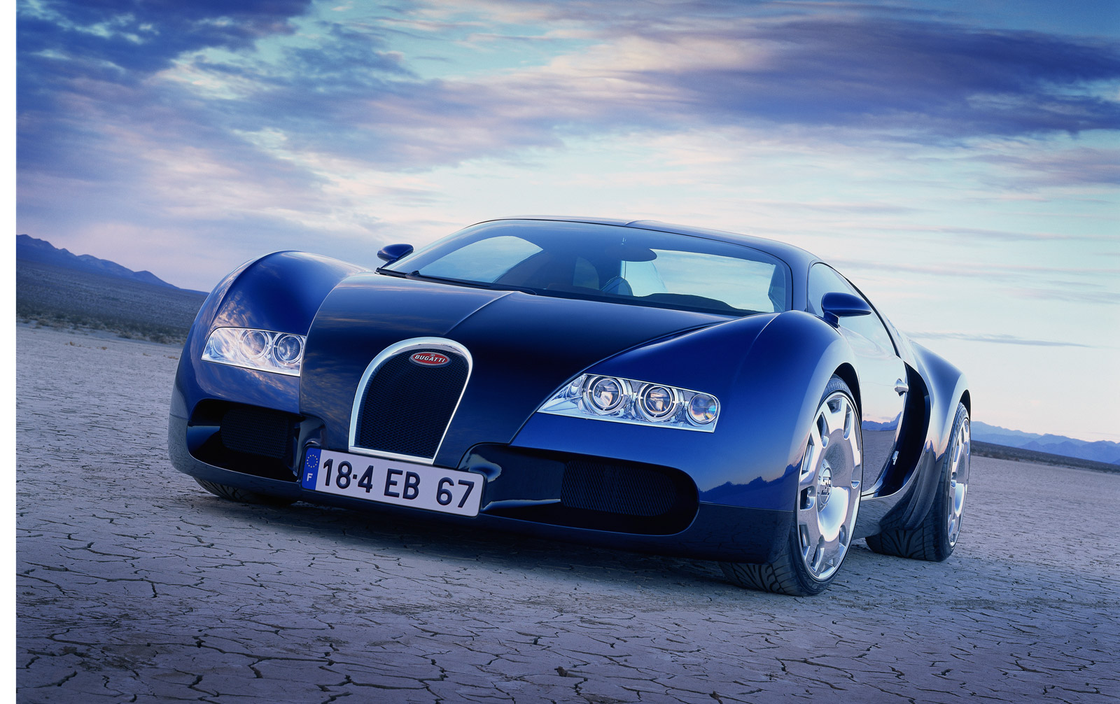 Original Bugatti Veyron EB 18.4 Concept Headed To Salon ...