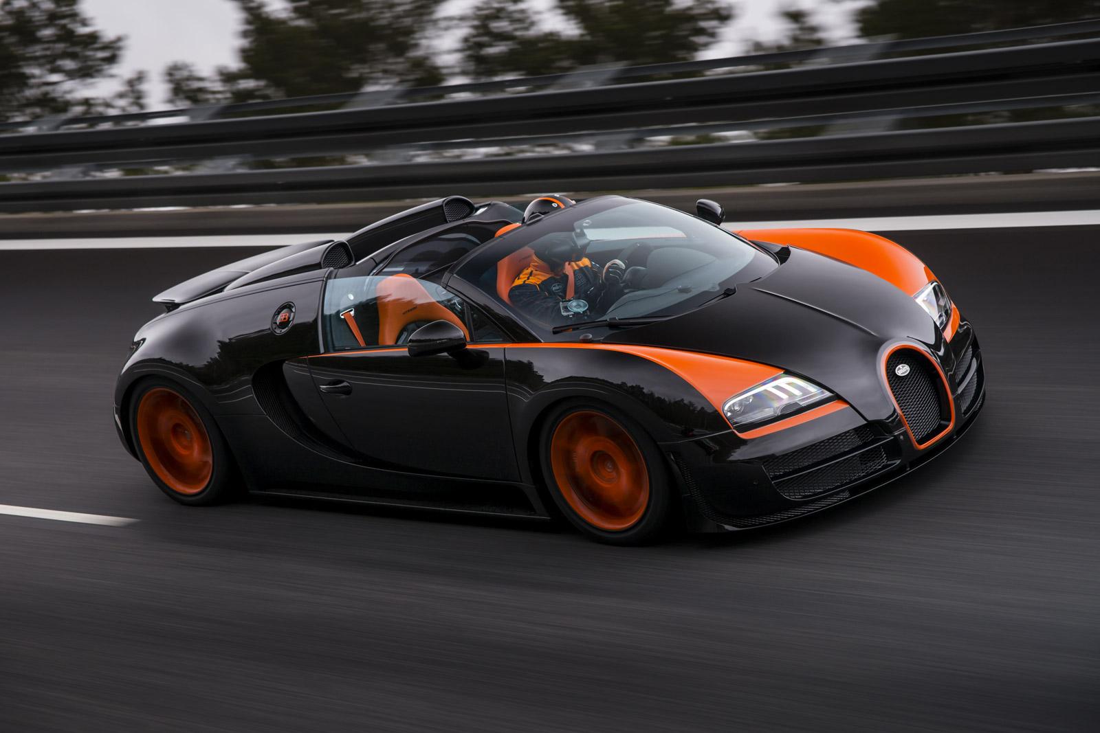 Watch Bugatti\'s Veyron Grand Sport Vitesse Break A Land Speed Record ...