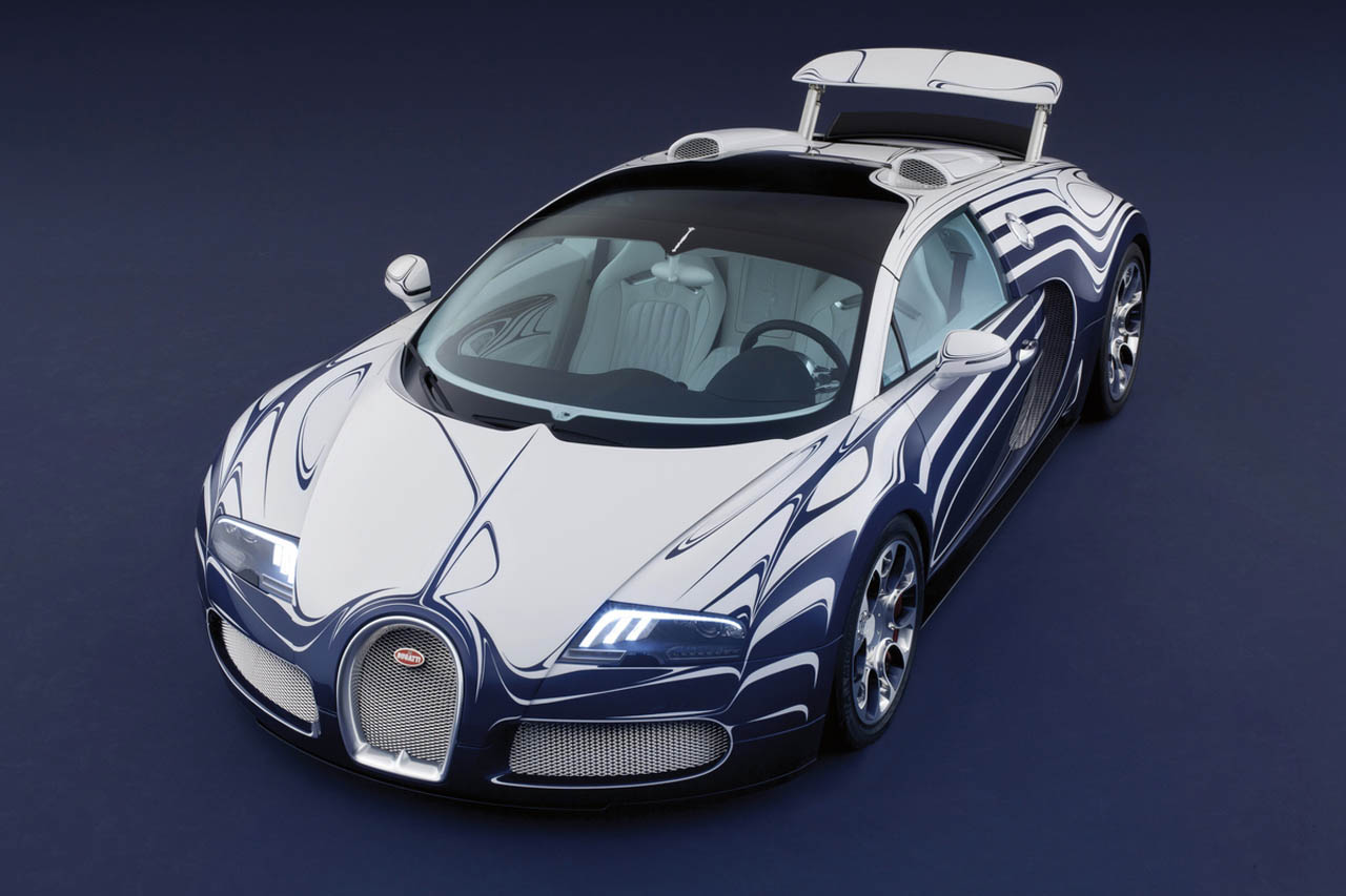 The Porcelain And Functional Bugatti Veyron