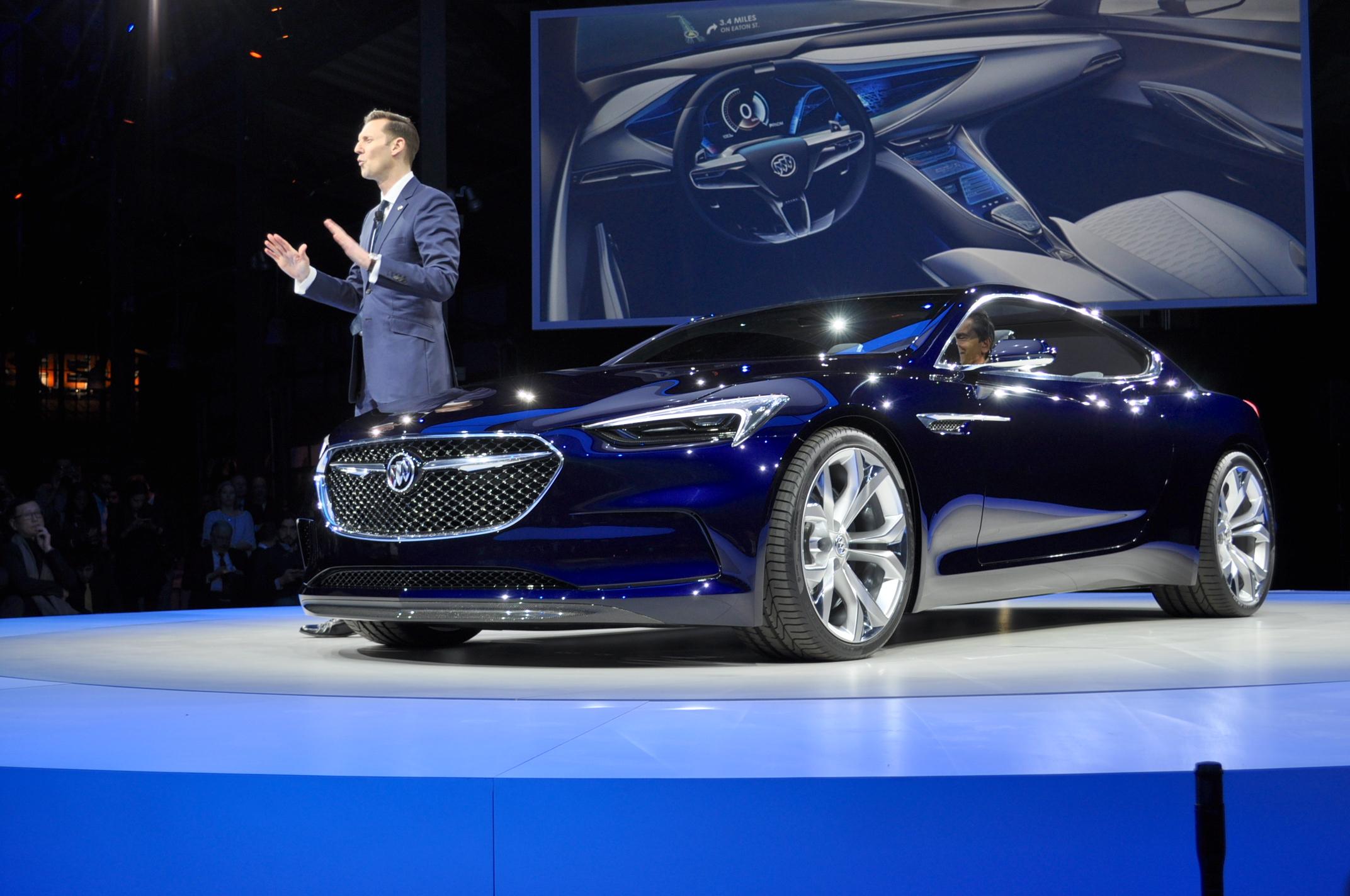 Buick Surprises With Avista Concept In Detroit: Live Photos