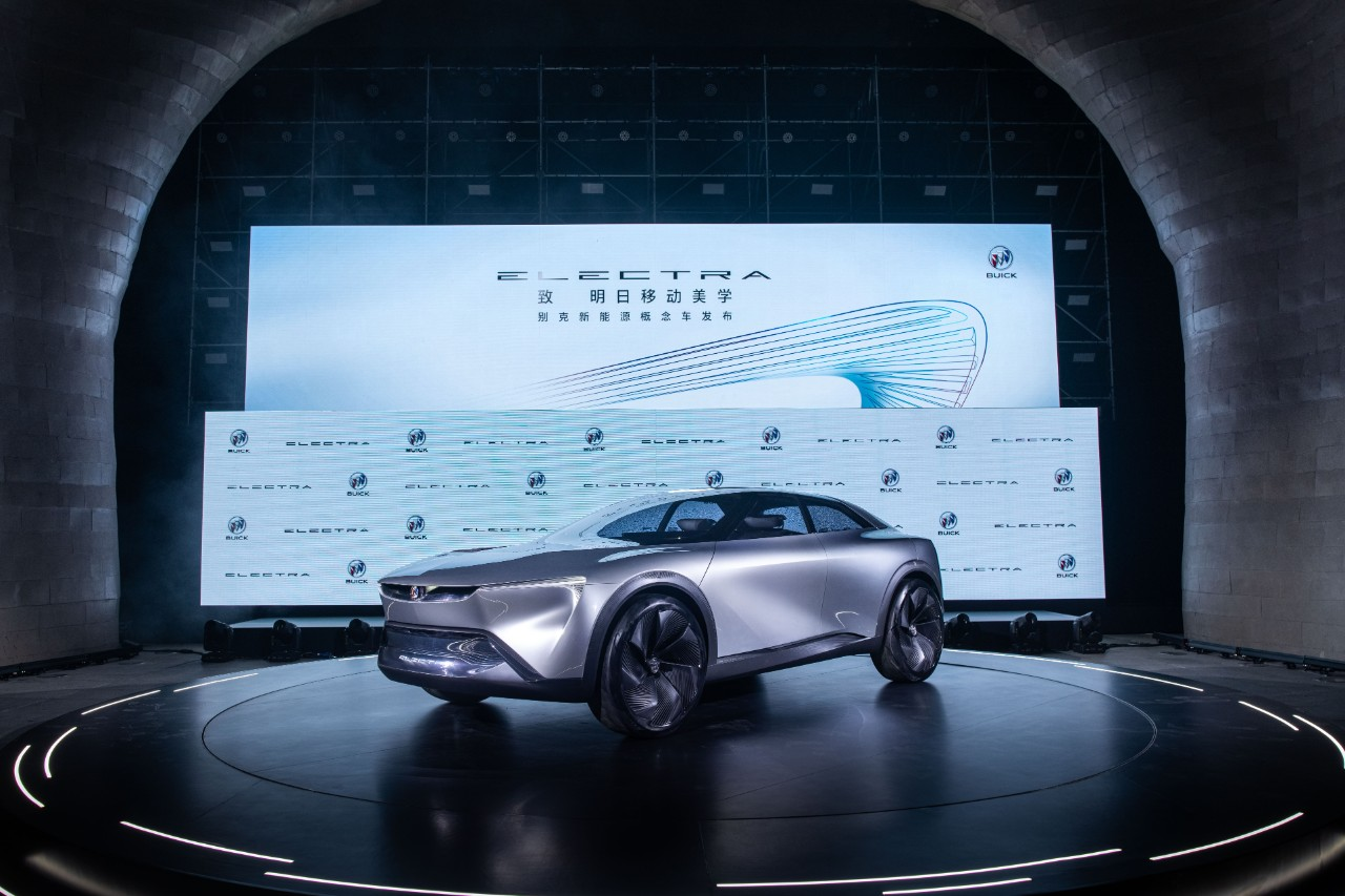gm reveals an all electric buick electra but it s for china all electric buick electra