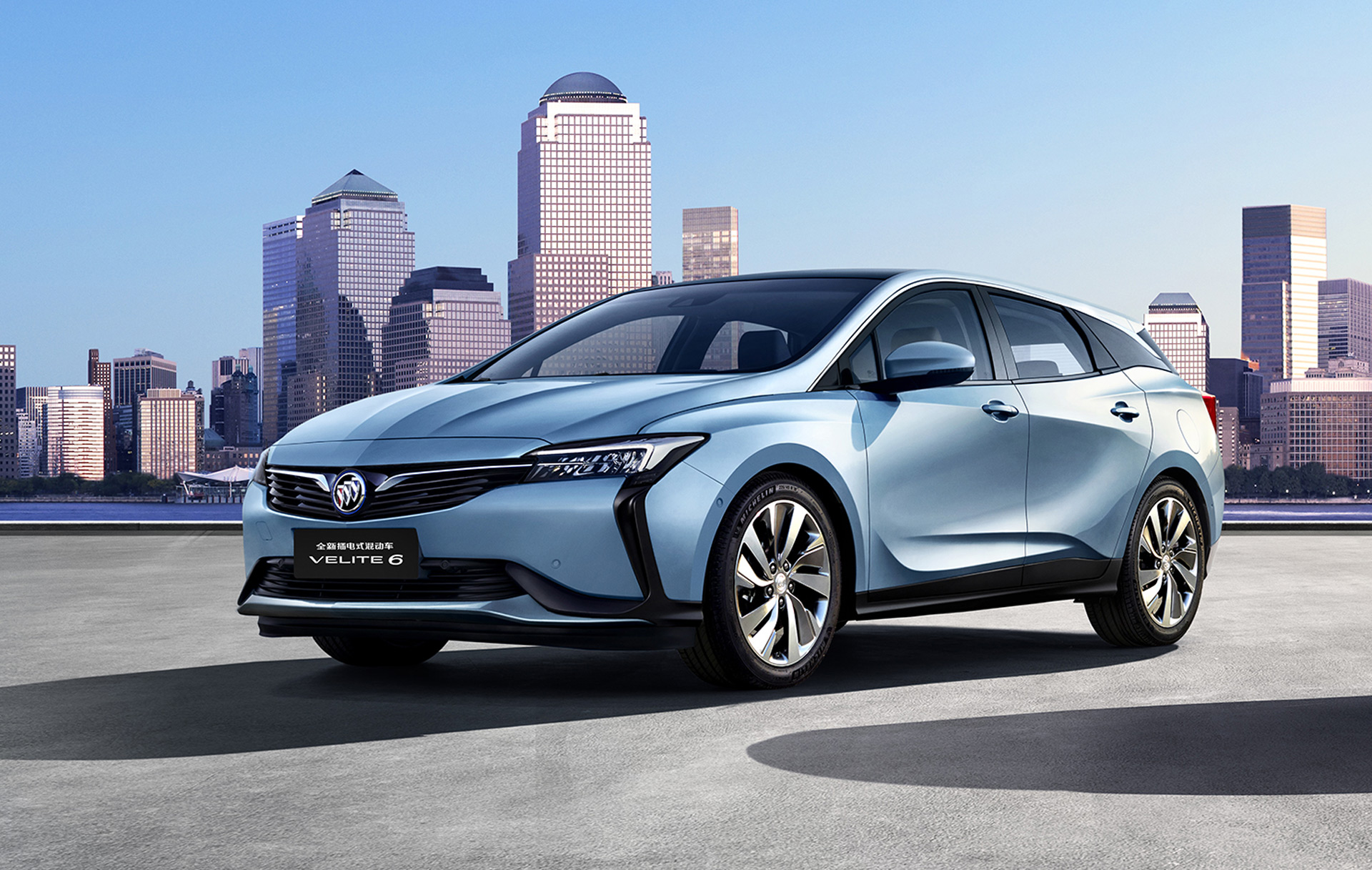Buick Velite 6 hybrid and electric cars bound for China