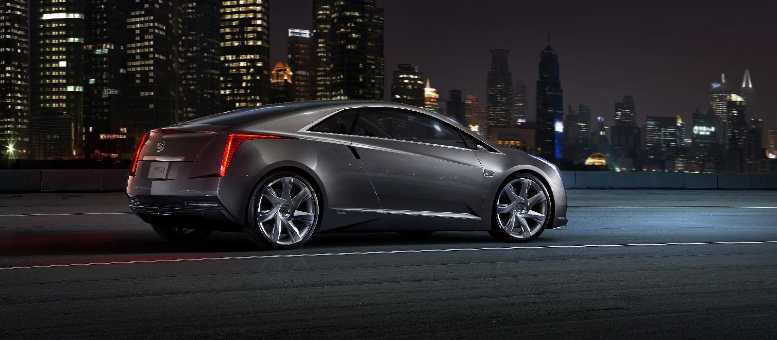 Cadillac ELR: Production Converj-Inspired Luxury Extended ...