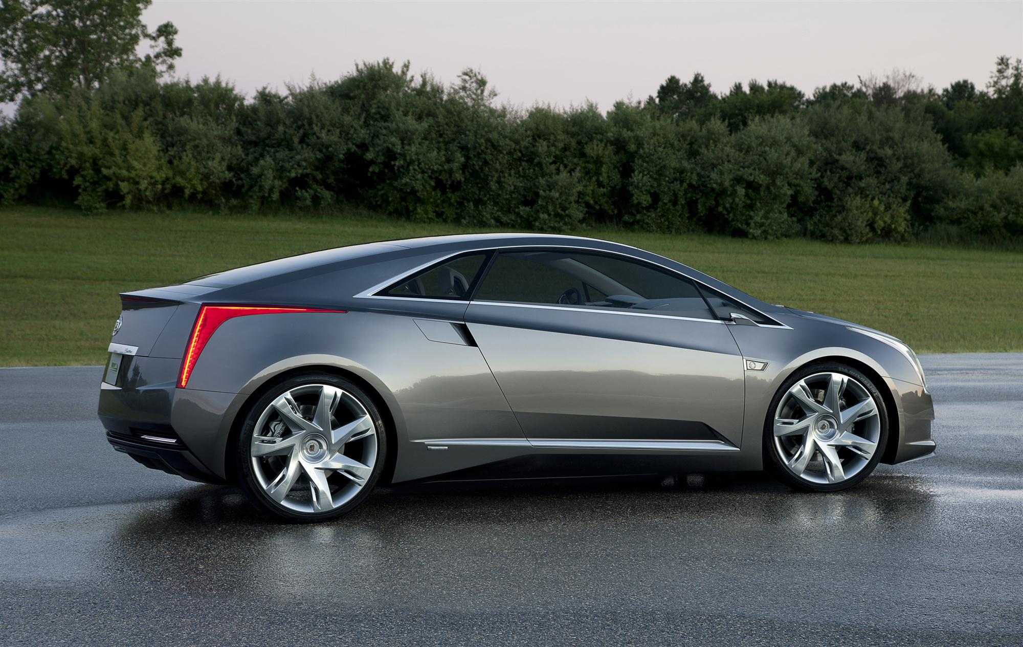 2014 Cadillac Elr Volt Based Coupe To Get New Engine