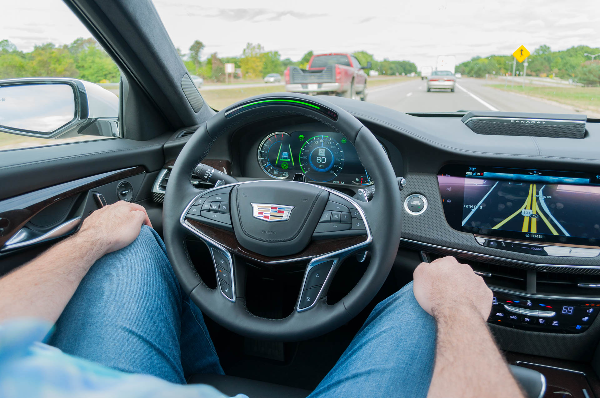 """Ultra Cruise"" to take GM's Super Cruise hands-free driving system into the city"