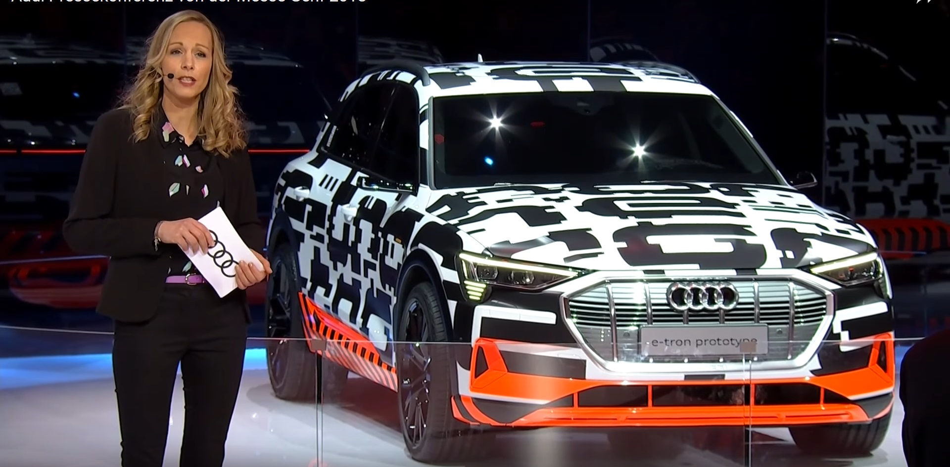 Audi E Tron Electric Suv Appears In Camouflage At Geneva
