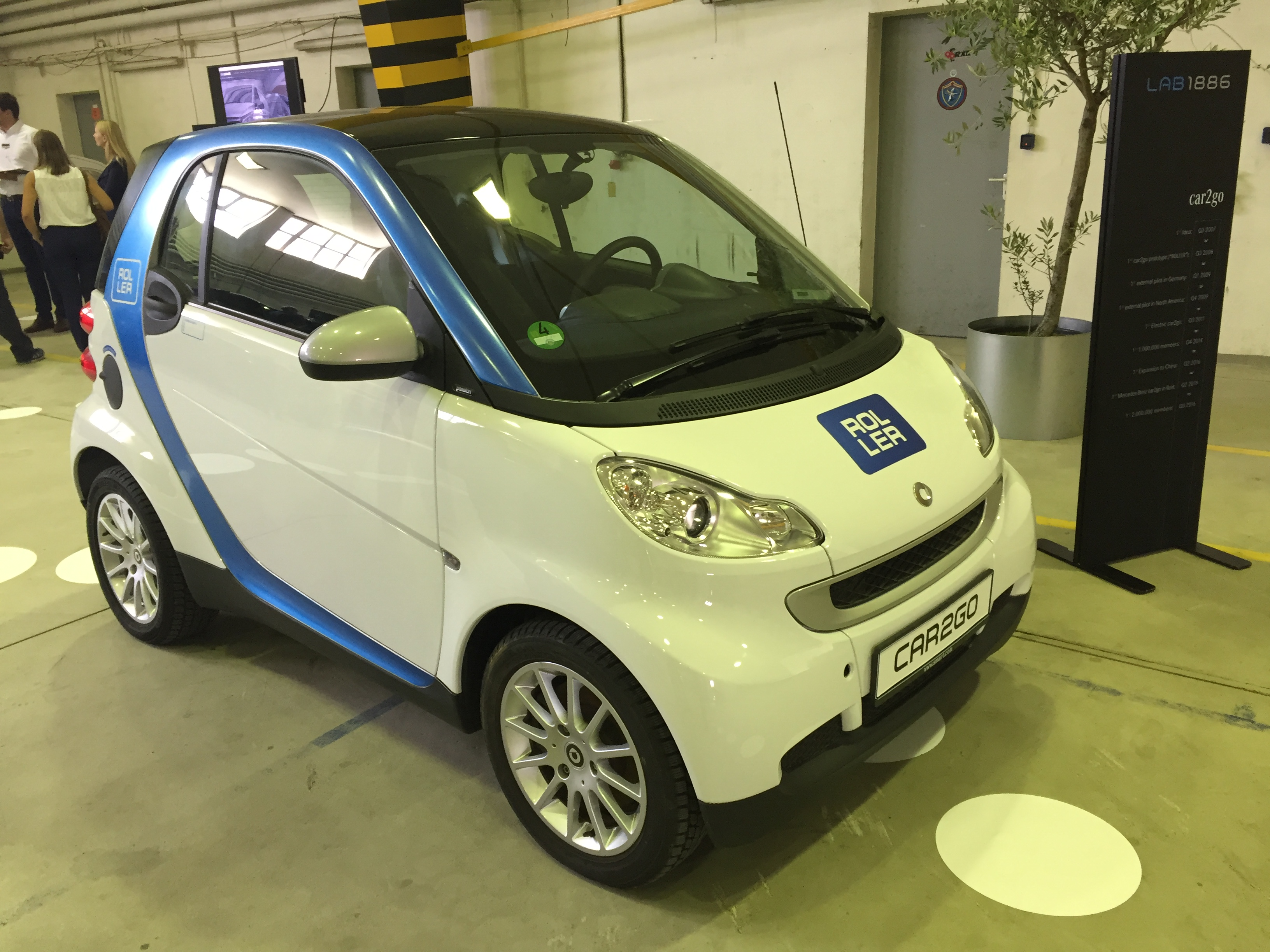Car2go Car Share Planning For A Self Driving Future