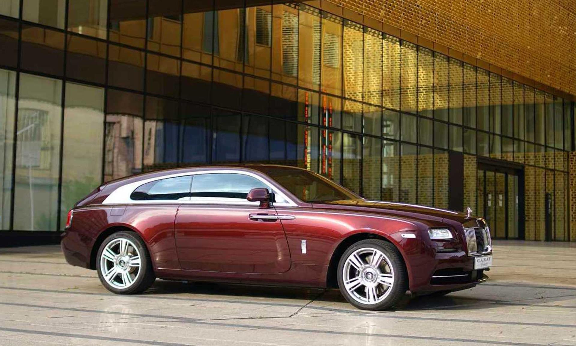 Niels van Roij Design returns with Rolls-Royce Wraith shooting brake