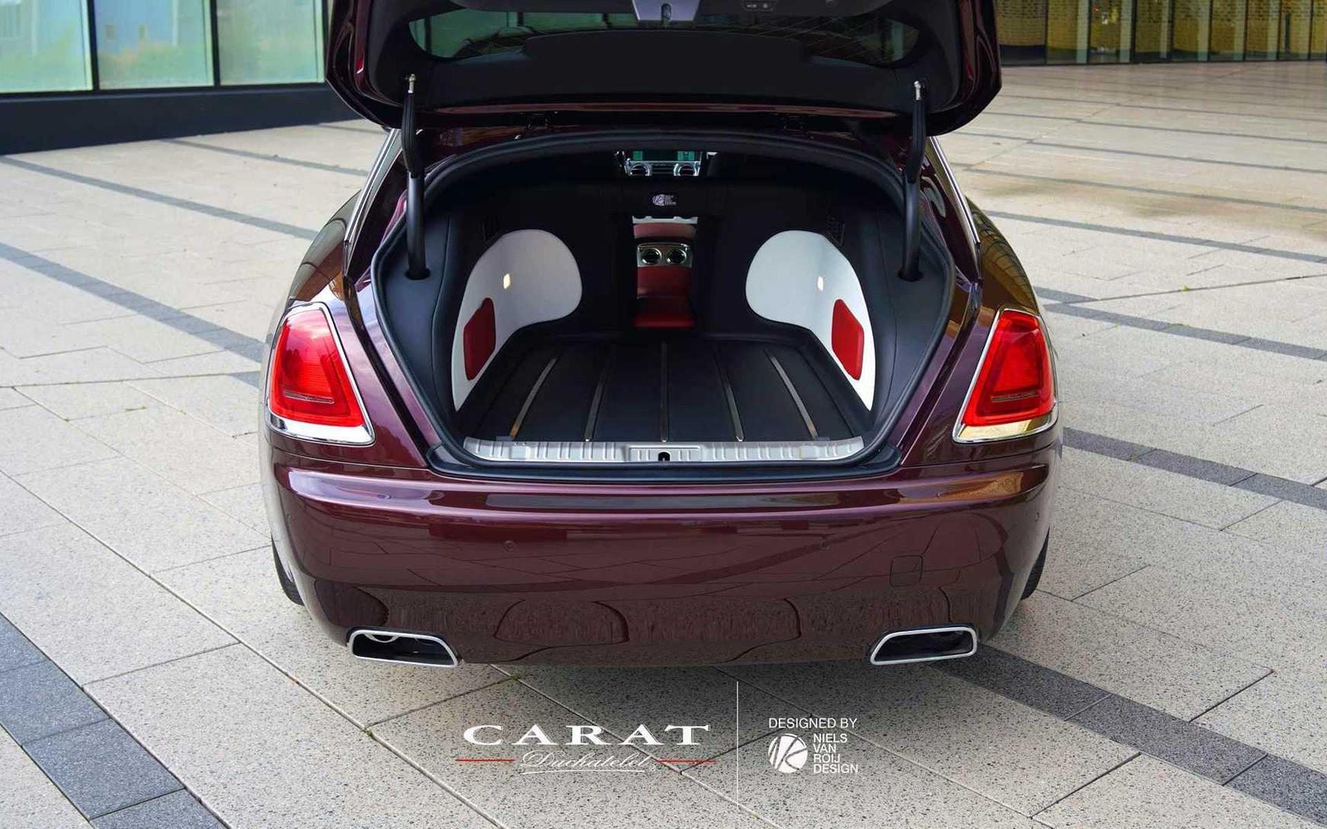 Carat Duchatelet Silver Specre Shooting Brake by Niels van Roij Design