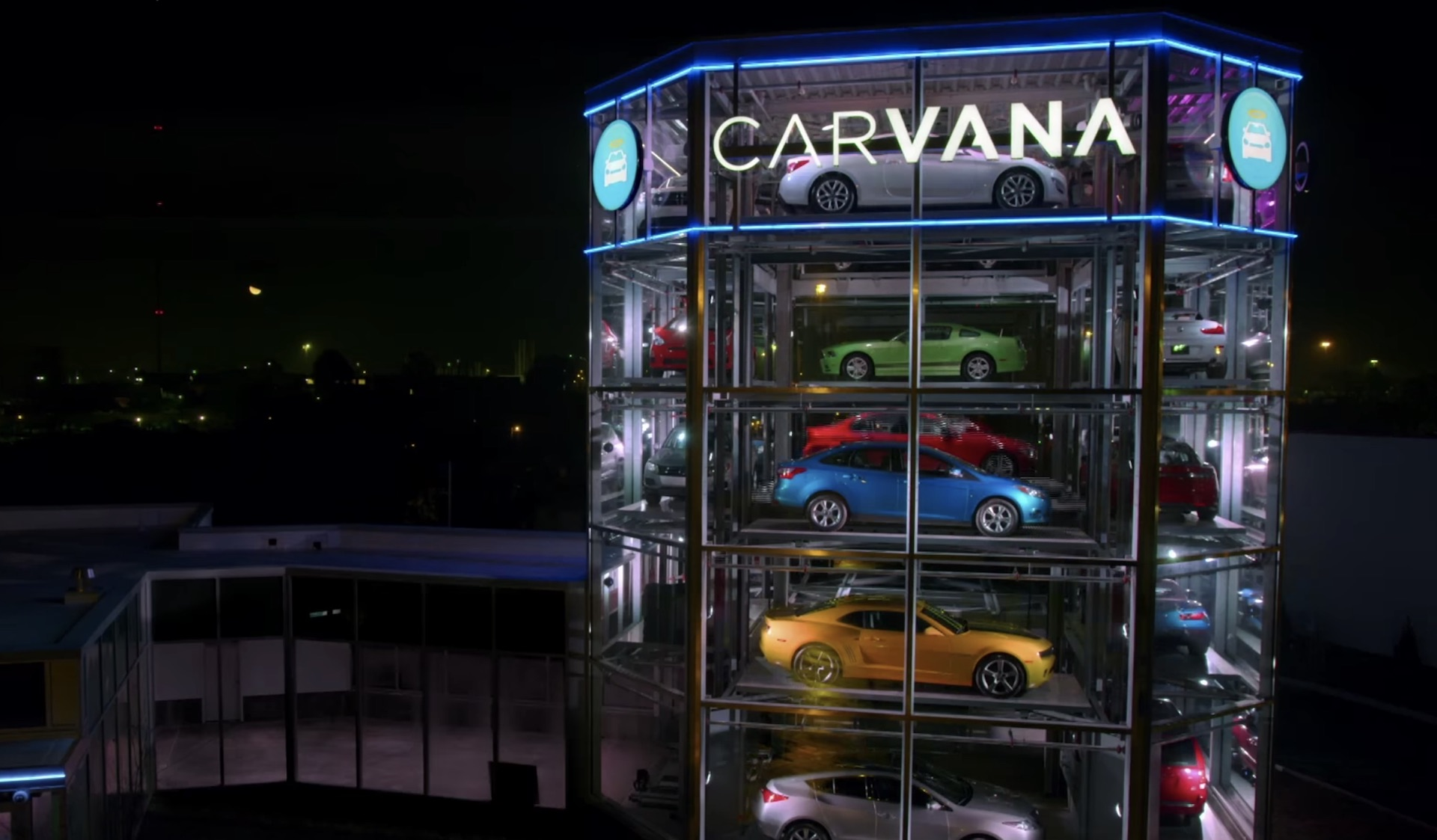 Insert Coin Carvana Continues To Open Car Vending