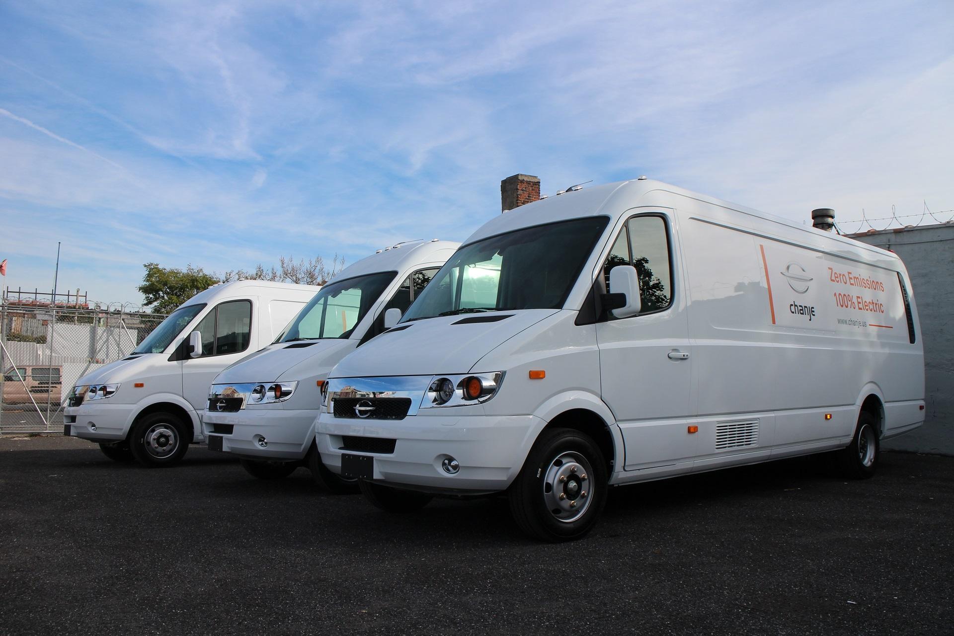 Driving A Chanje Electric Cargo Van Very Far Better Than Sel